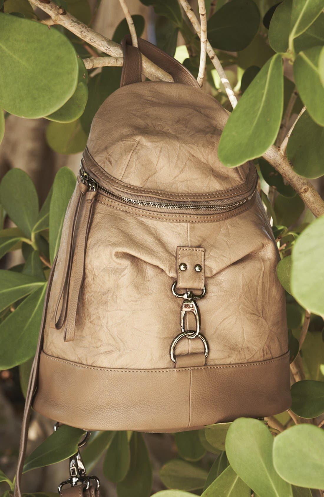 Alternate Image 6  - POVERTY FLATS by rian Faux Leather Backpack