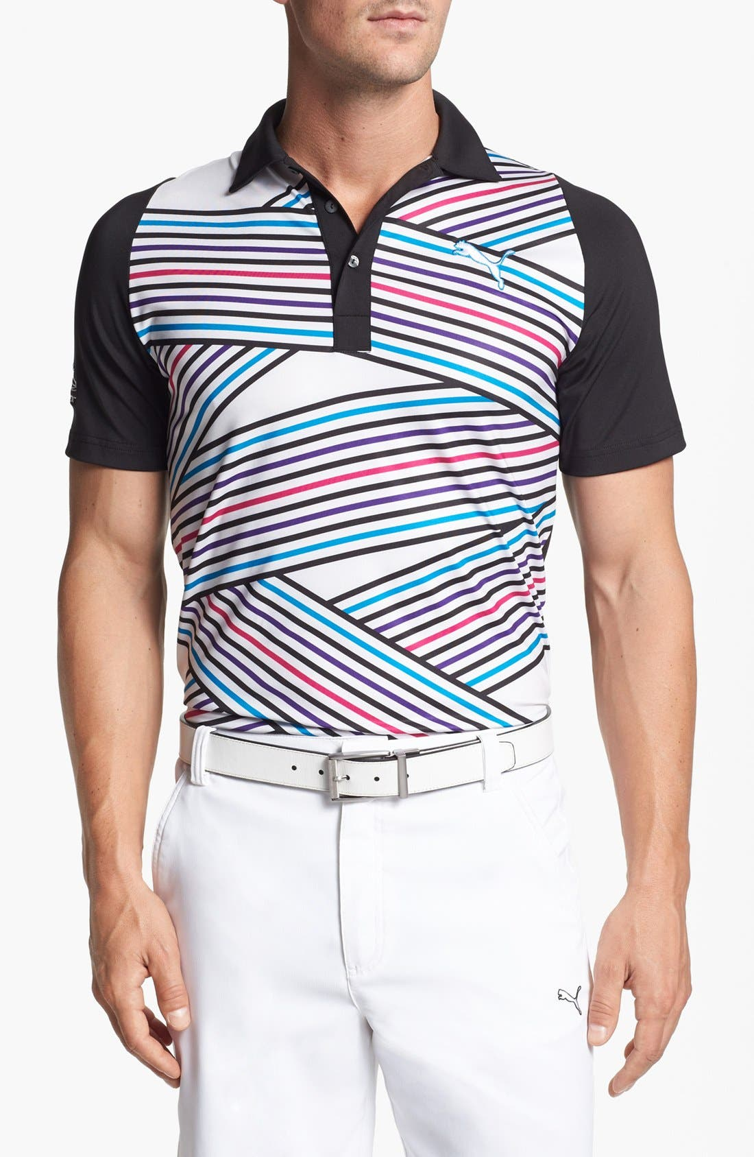 Alternate Image 1 Selected - PUMA GOLF 'Duo - Swing' Polo
