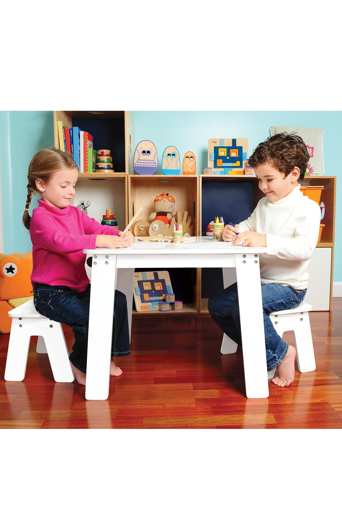 Alternate Image 3  - P'kolino Art Table & Benches (Toddler)