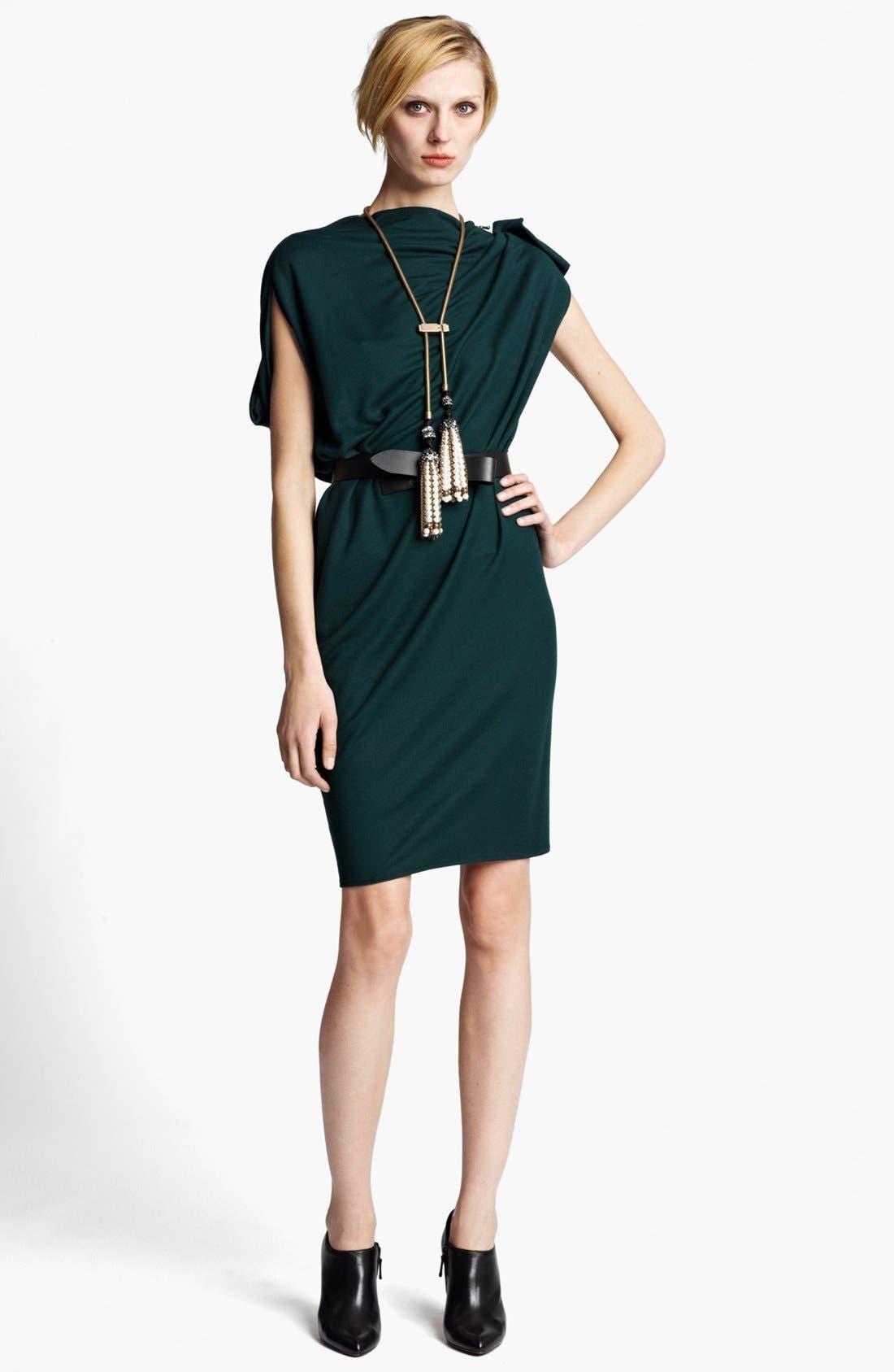 Main Image - Lanvin Zip Detail Draped Dress