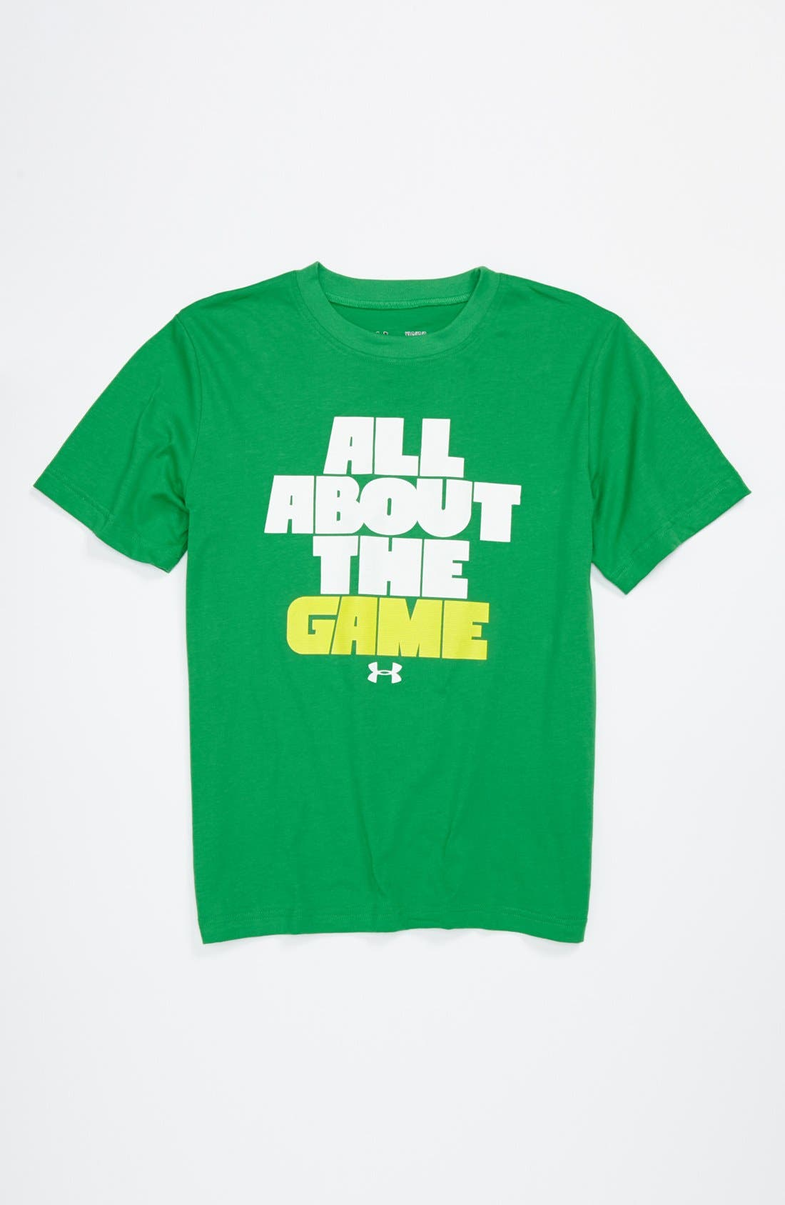 Alternate Image 1 Selected - Under Armour Graphic T-Shirt (Big Boys)