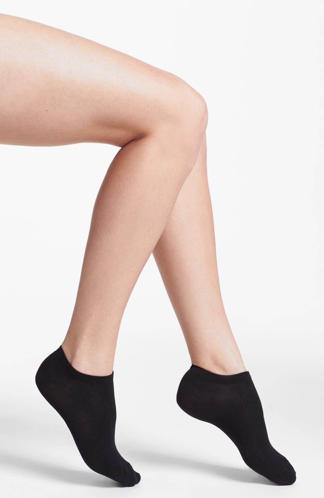 Alternate Image 2  - Nordstrom 'Best Bootie' Low Cut Socks (3-Pack)