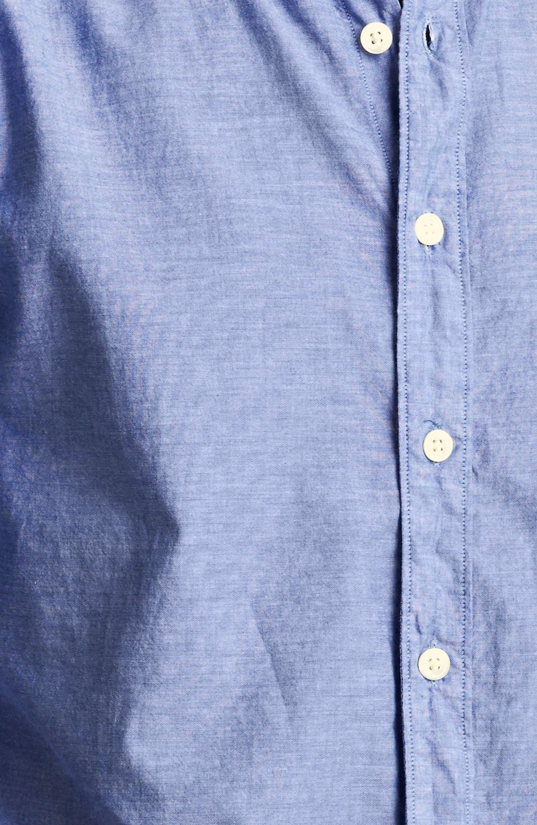Alternate Image 3  - Todd Snyder Chambray Sport Shirt