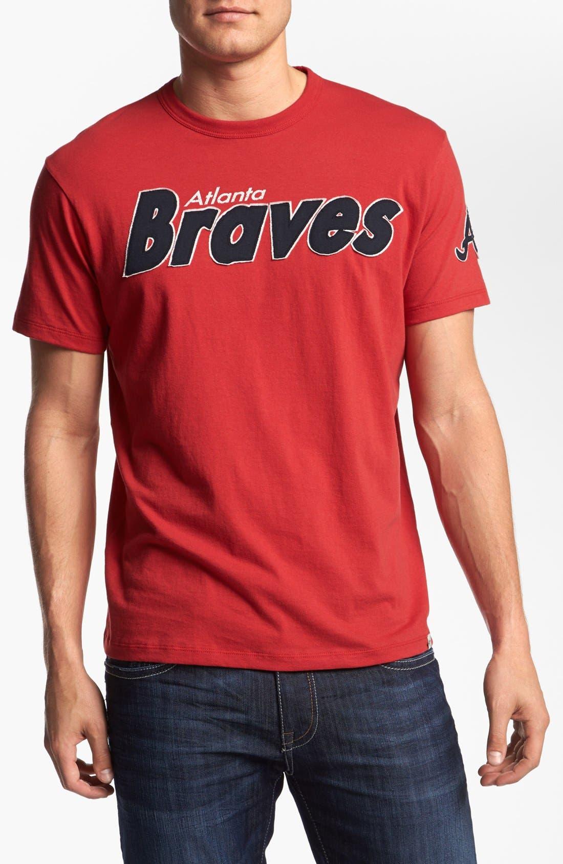 Alternate Image 1 Selected - '47 'Atlanta Braves - Fieldhouse' T-Shirt
