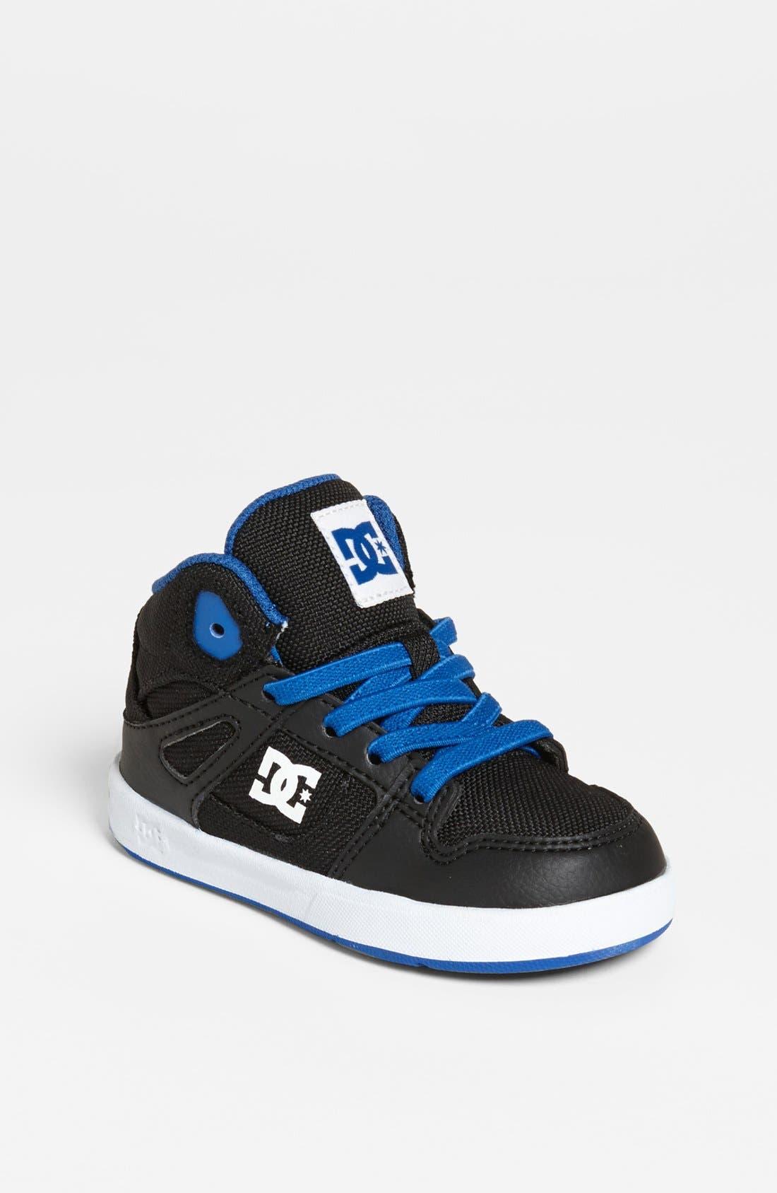 Alternate Image 1 Selected - DC Shoes 'Rebound' Sneaker (Walker & Toddler)