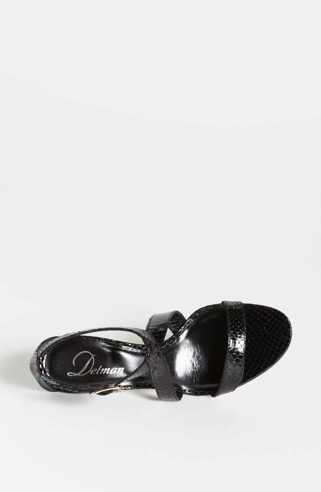 Alternate Image 3  - Delman 'Tori' Sandal (Online Only)