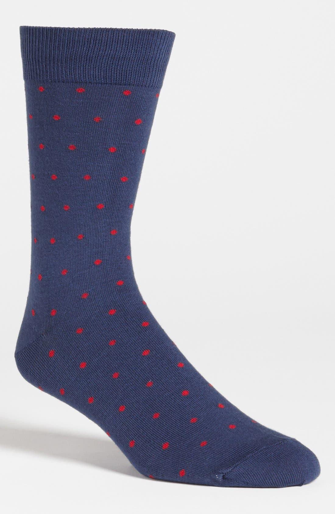 Alternate Image 1 Selected - Richer Poorer Dot Socks
