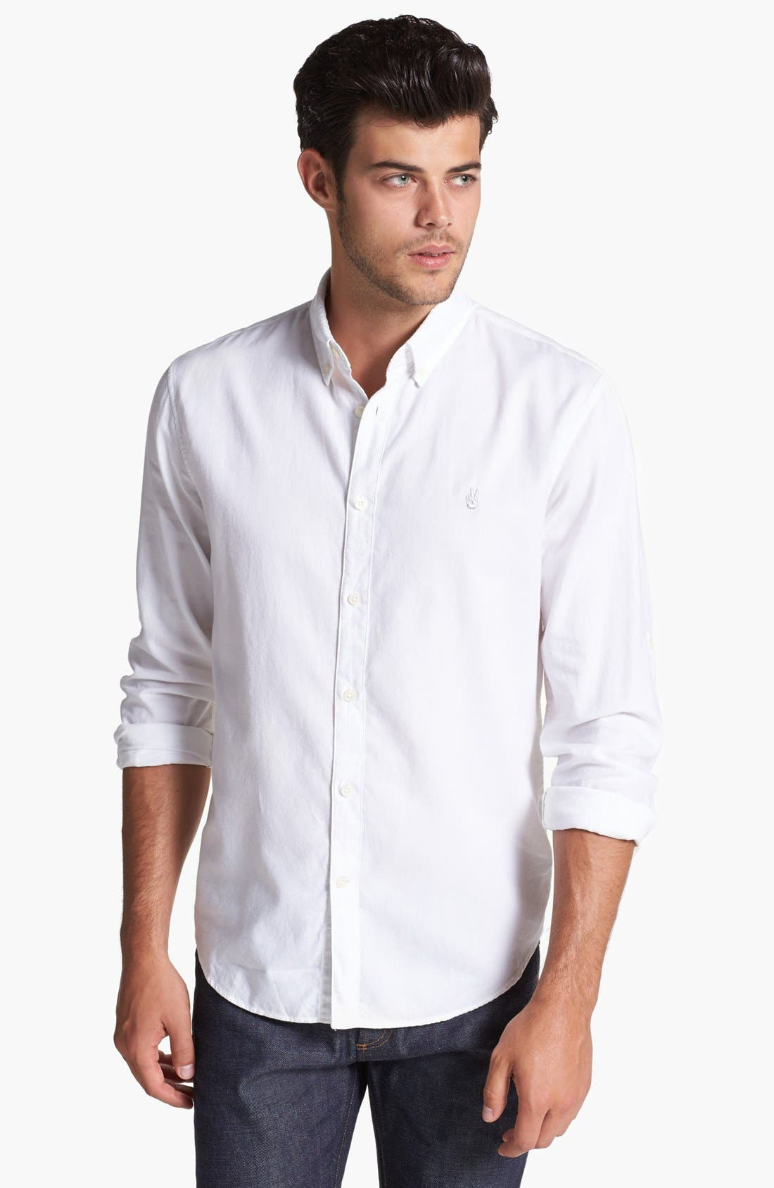 Alternate Image 1 Selected - John Varvatos Star USA Slim Fit Sport Shirt