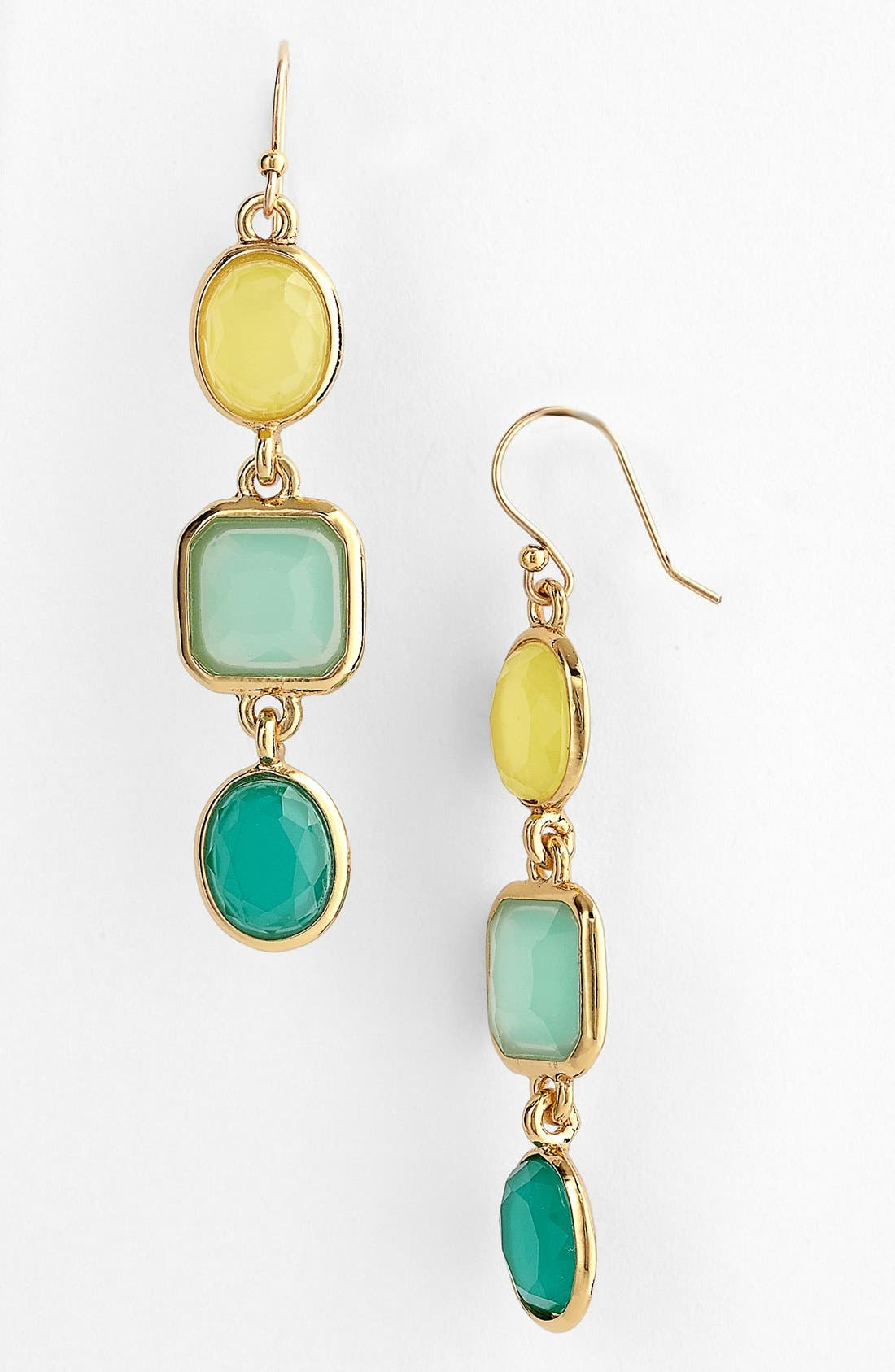 Main Image - kate spade new york 'coated confetti' linear earrings