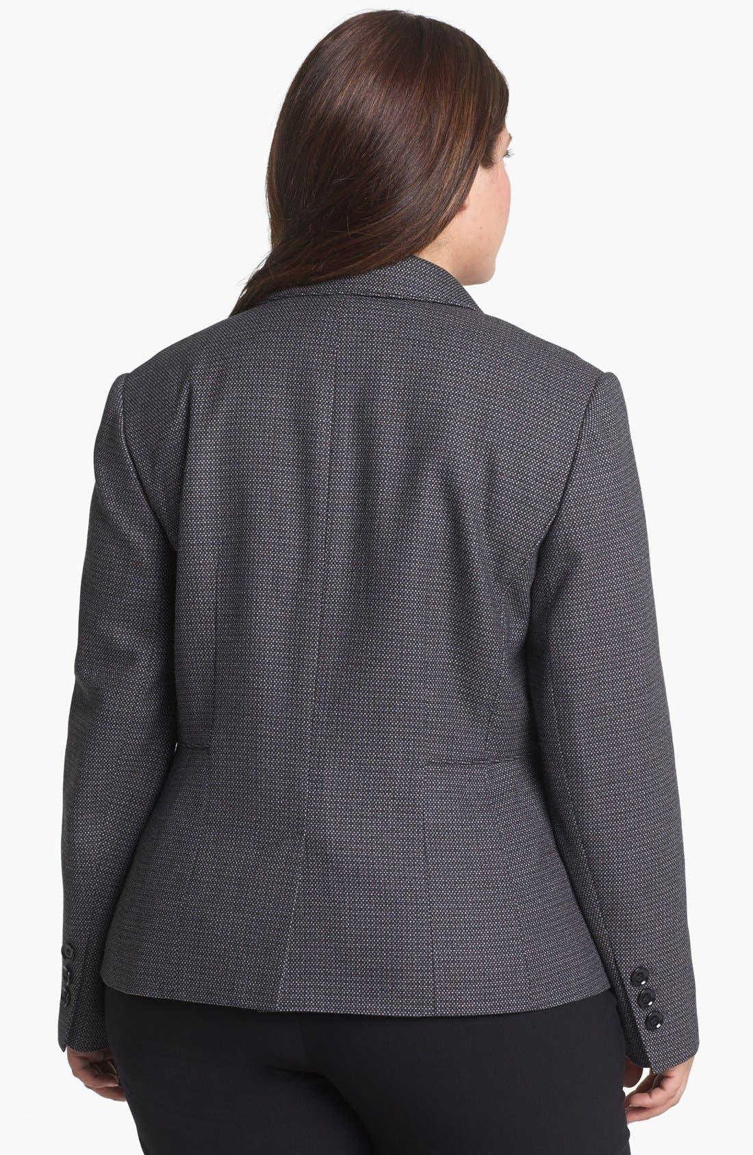 Alternate Image 2  - Sejour Microdot Jacket (Plus Size)