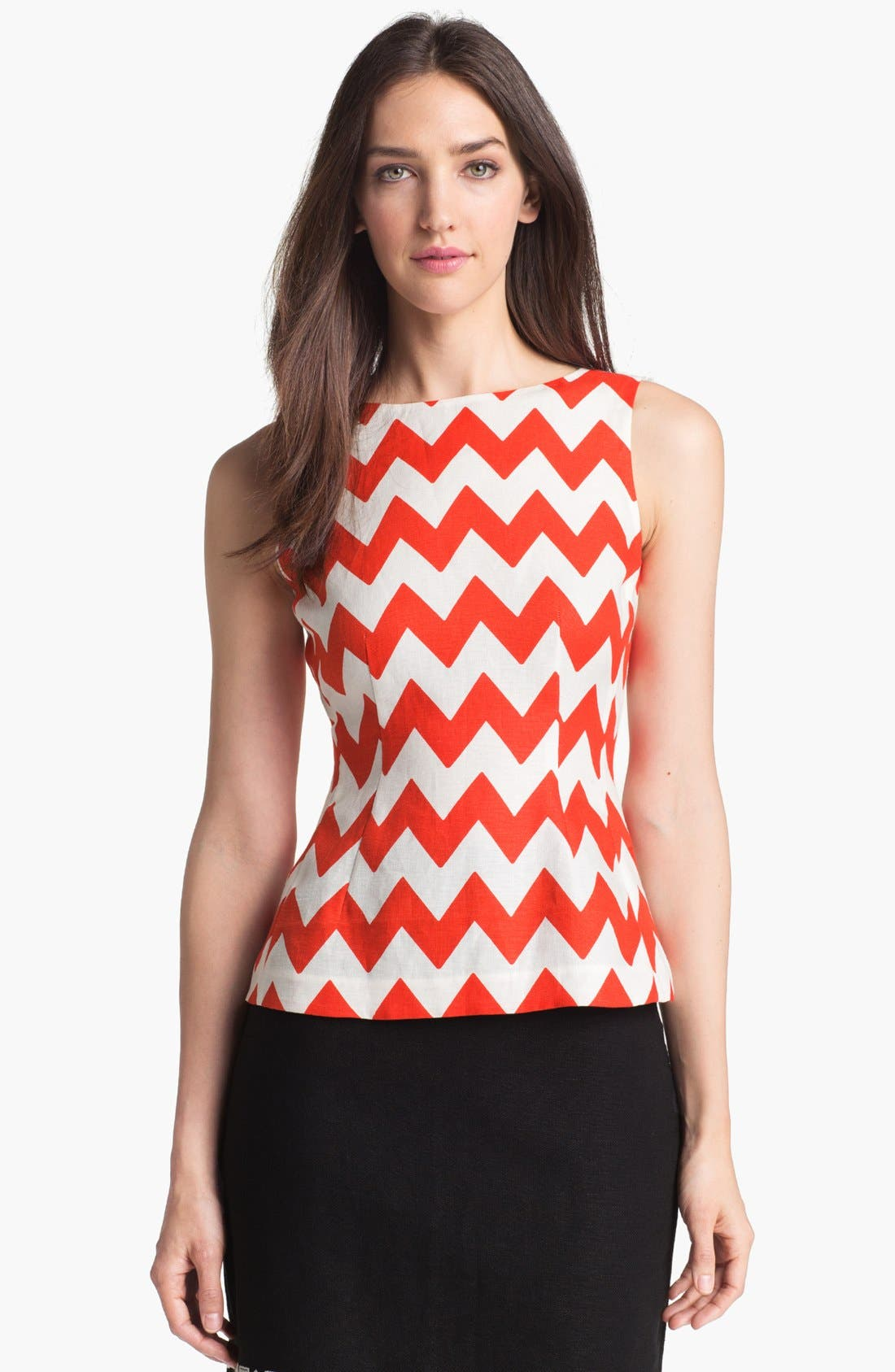 Main Image - kate spade new york 'tatiana' stripe top