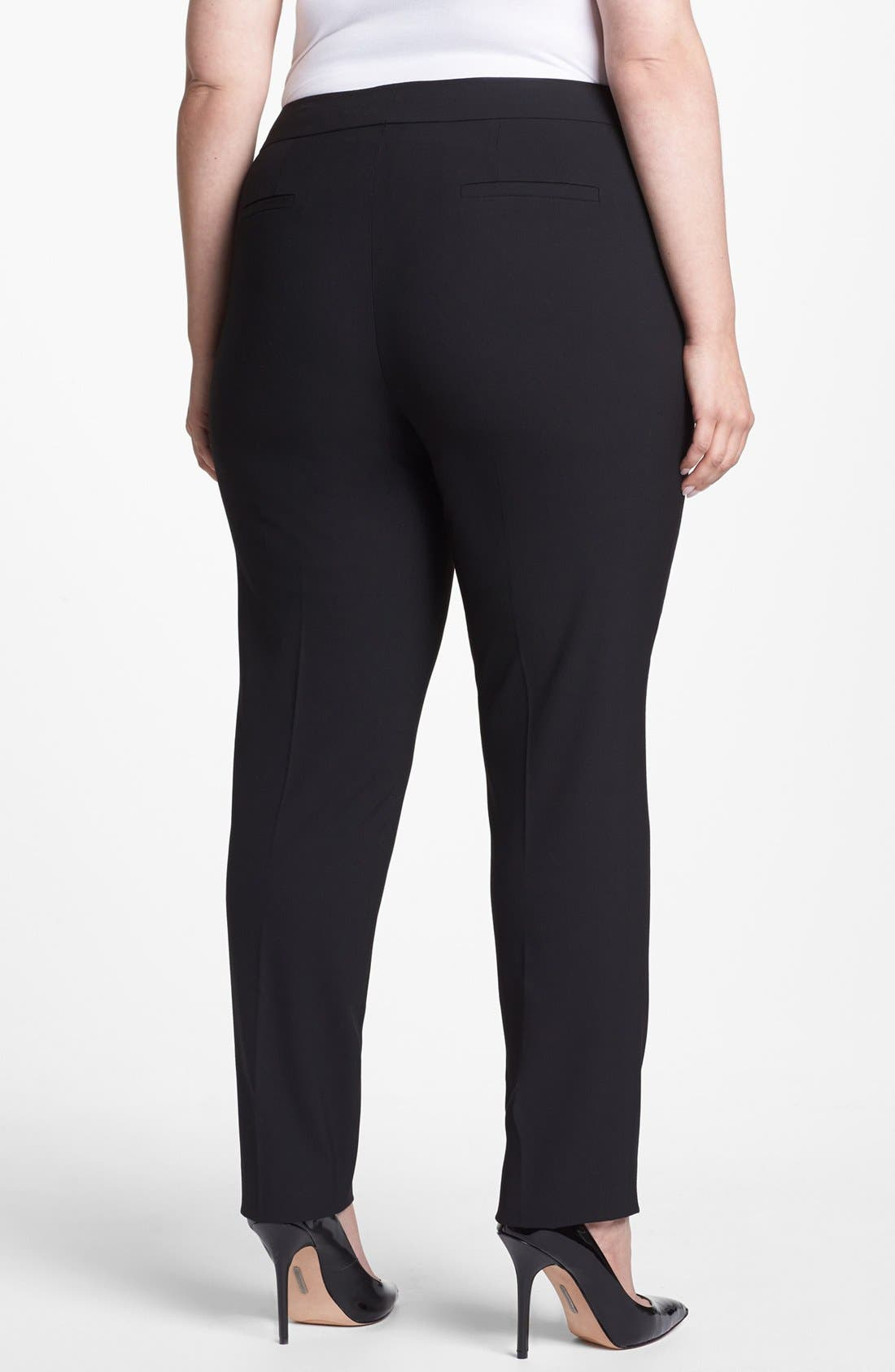Alternate Image 2  - Sejour 'Ela' Straight Leg Pants (Plus Size)