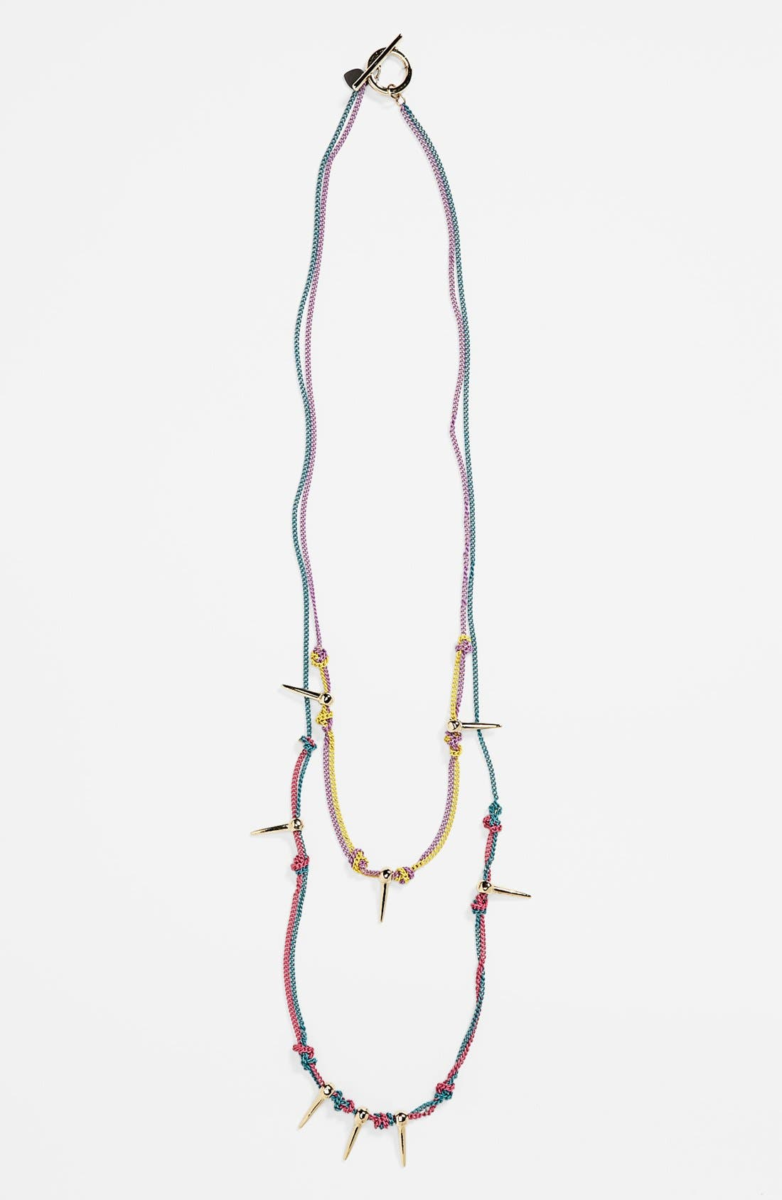 Main Image - Bonnie Jonas Spiked Multistrand Necklace