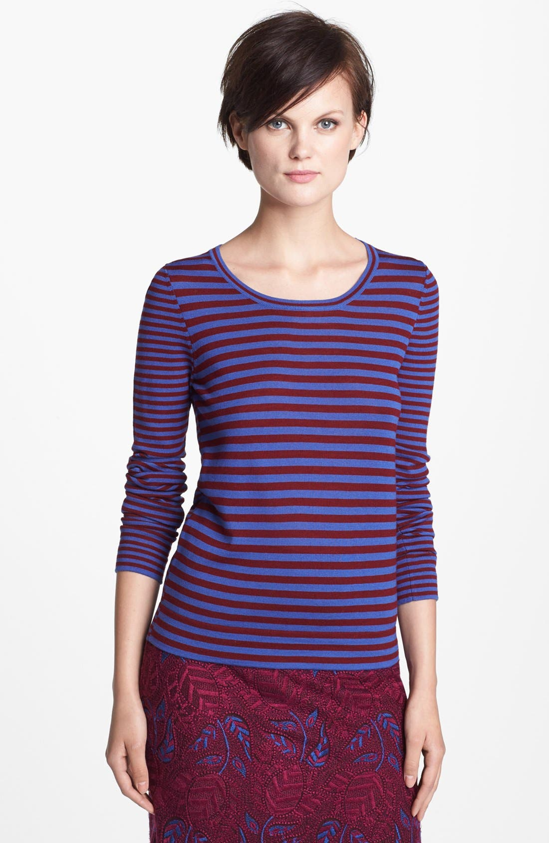 Alternate Image 1 Selected - MARC BY MARC JACOBS 'Fiona' Merino Wool Sweater