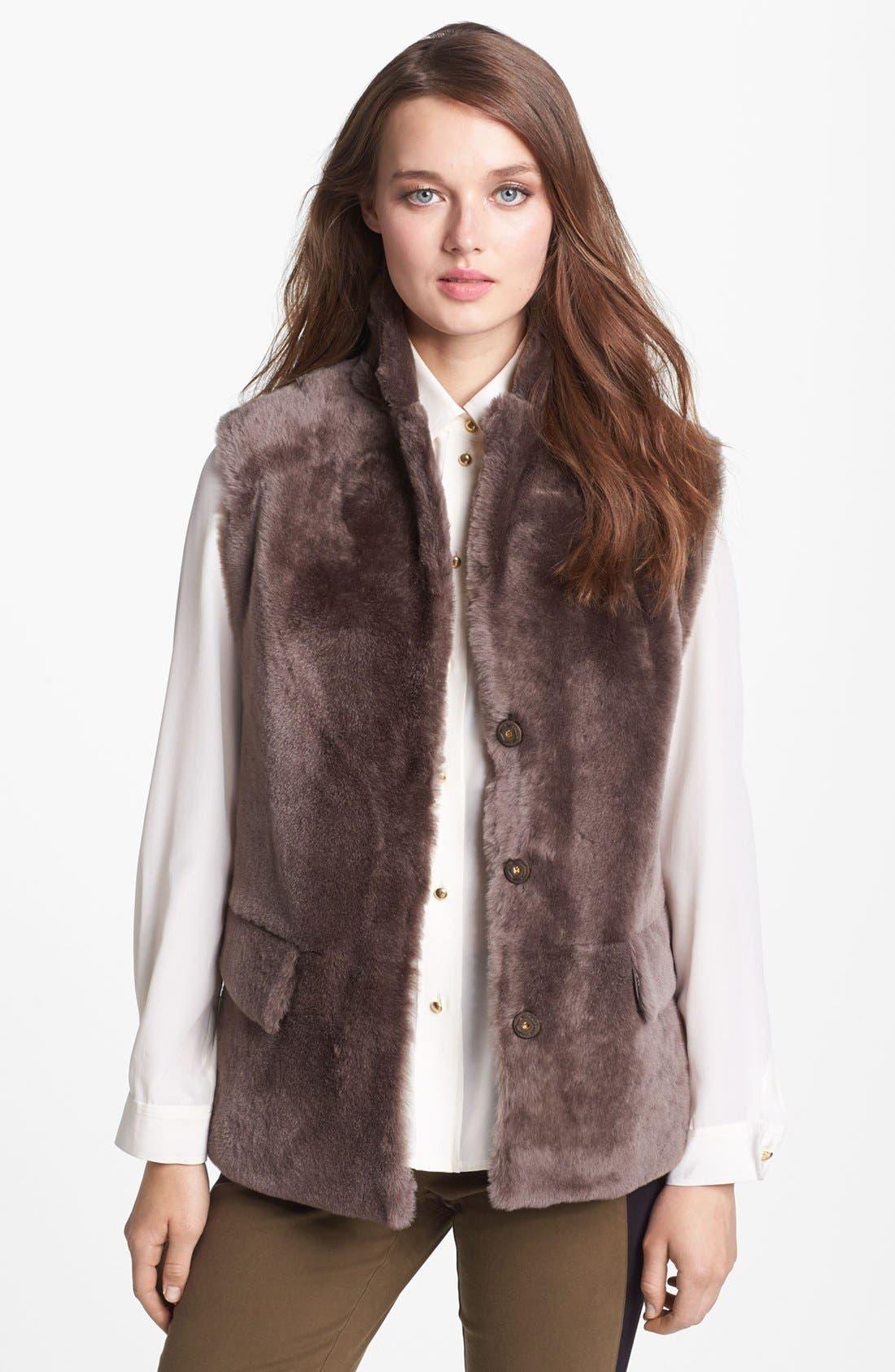 Alternate Image 1 Selected - MARC BY MARC JACOBS 'Hudson' Genuine Shearling Vest