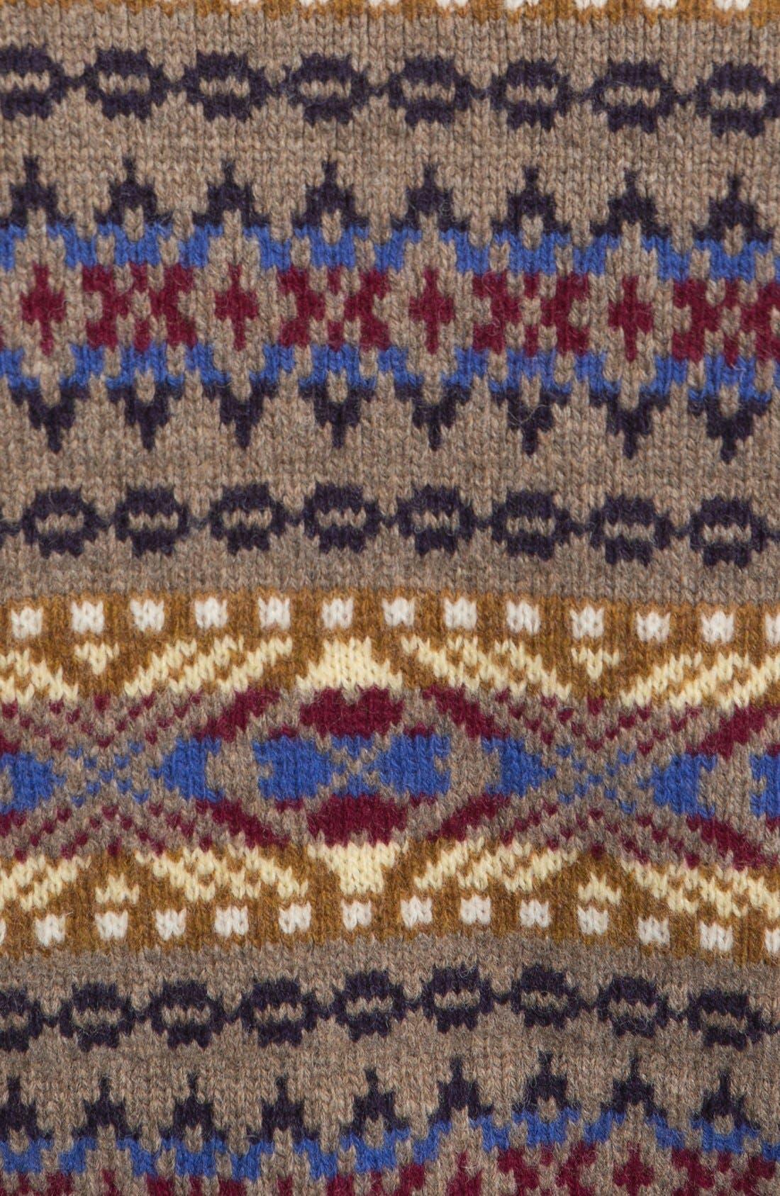 Alternate Image 3  - Dsquared2 Fair Isle Wool Crewneck Sweater