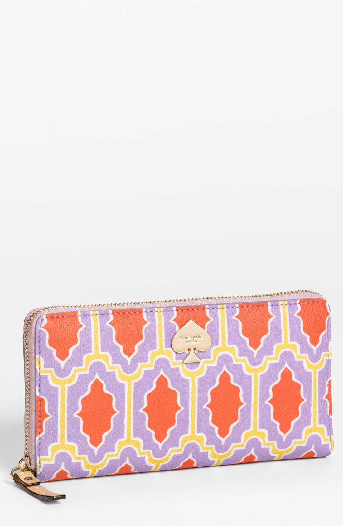 Main Image - kate spade new york 'cabana tile - lacey' wallet