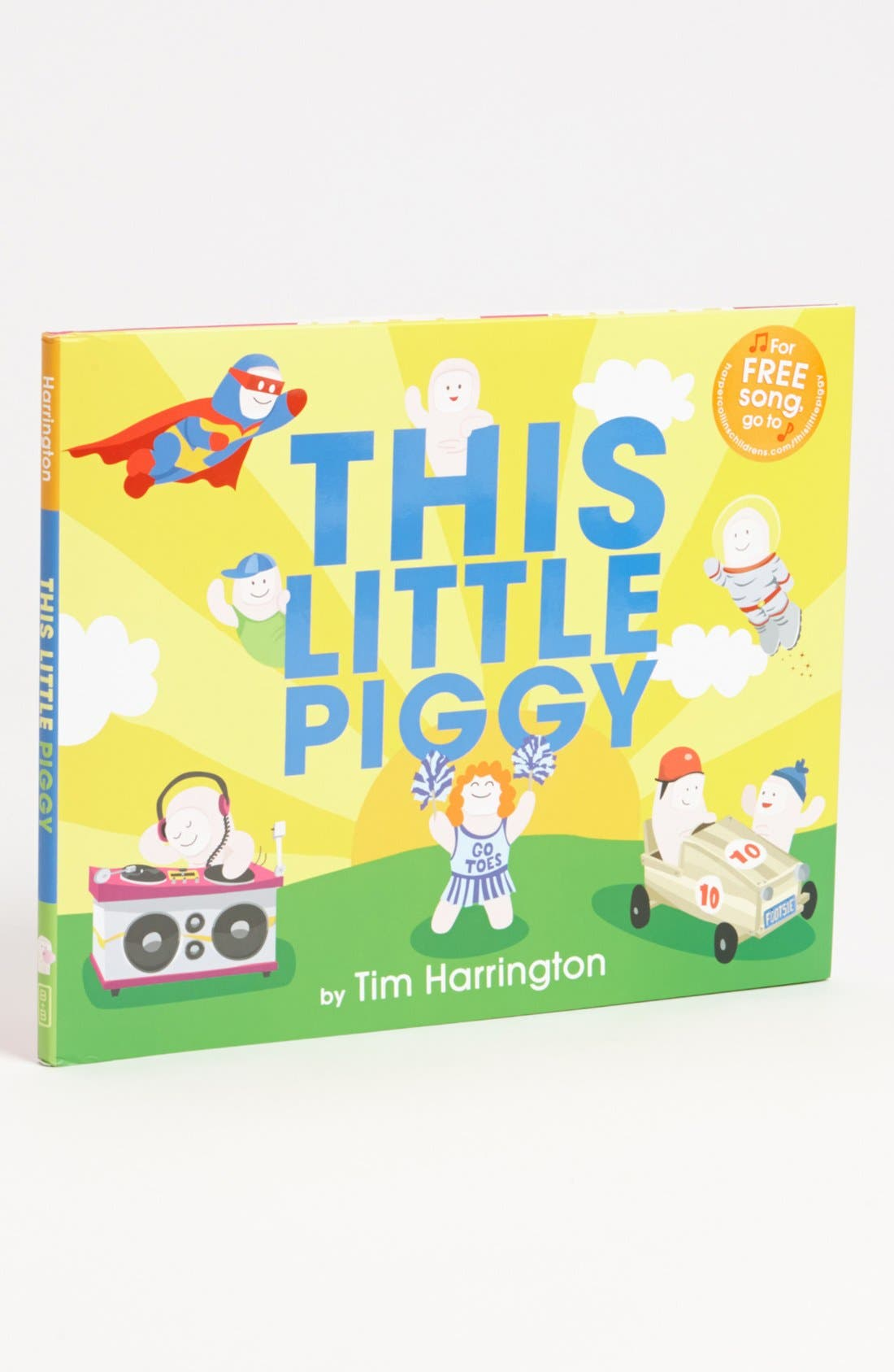 Alternate Image 1 Selected - 'This Little Piggy' Book