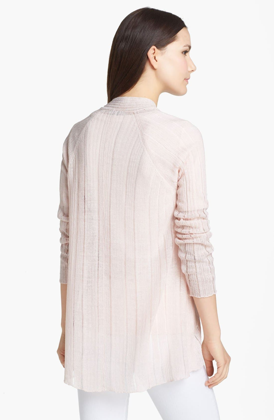 Alternate Image 2  - Eileen Fisher Angled Front Cardigan
