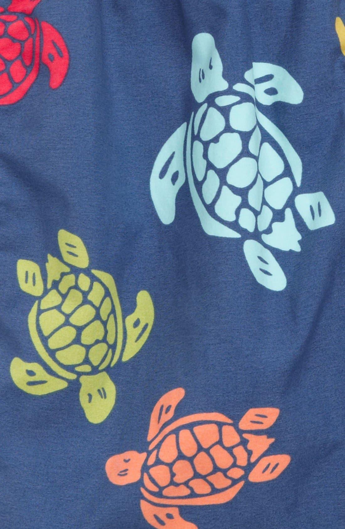Alternate Image 3  - Vilebrequin 'Jim' Turtle Print Swim Trunks (Little Boys)