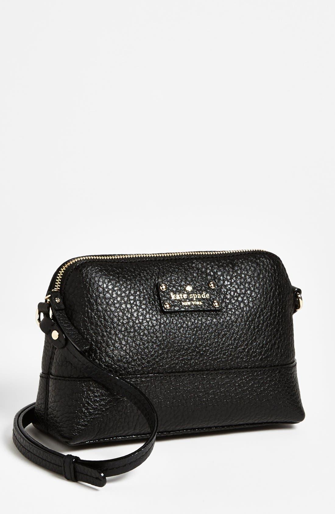 'grove court - mandy' crossbody bag, small,                             Main thumbnail 1, color,                             Black