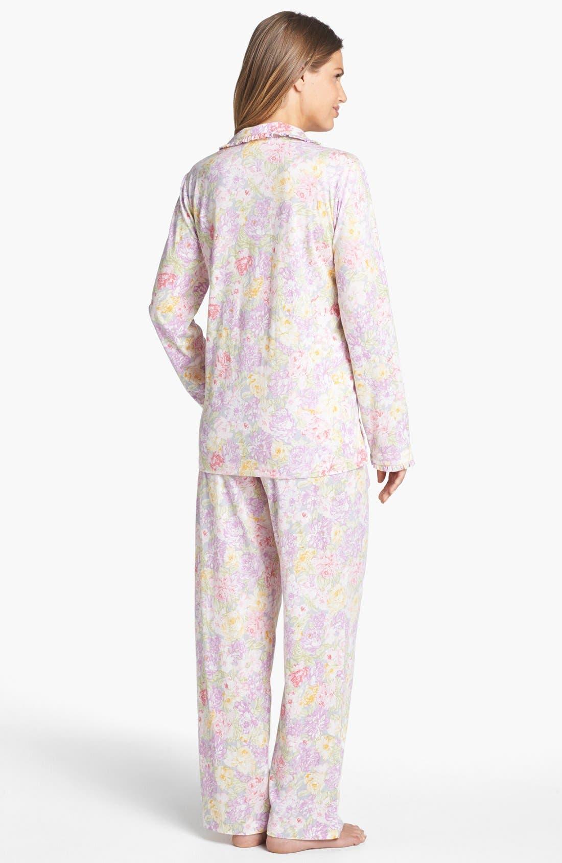 Alternate Image 2  - Carole Hochman Designs 'Garden Arrangement' Pajamas