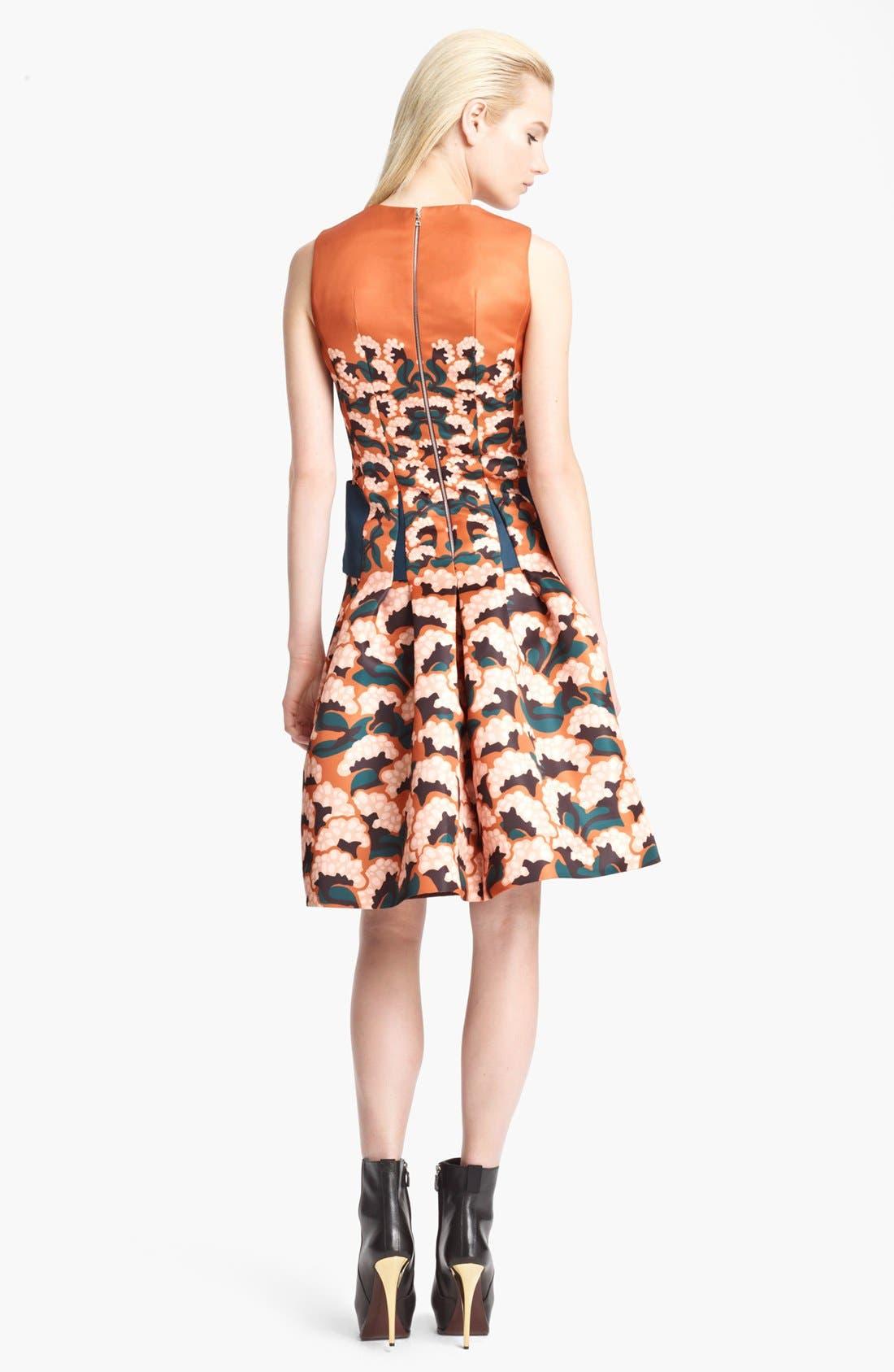 Alternate Image 2  - Thakoon Floral Print Full Skirt Dress
