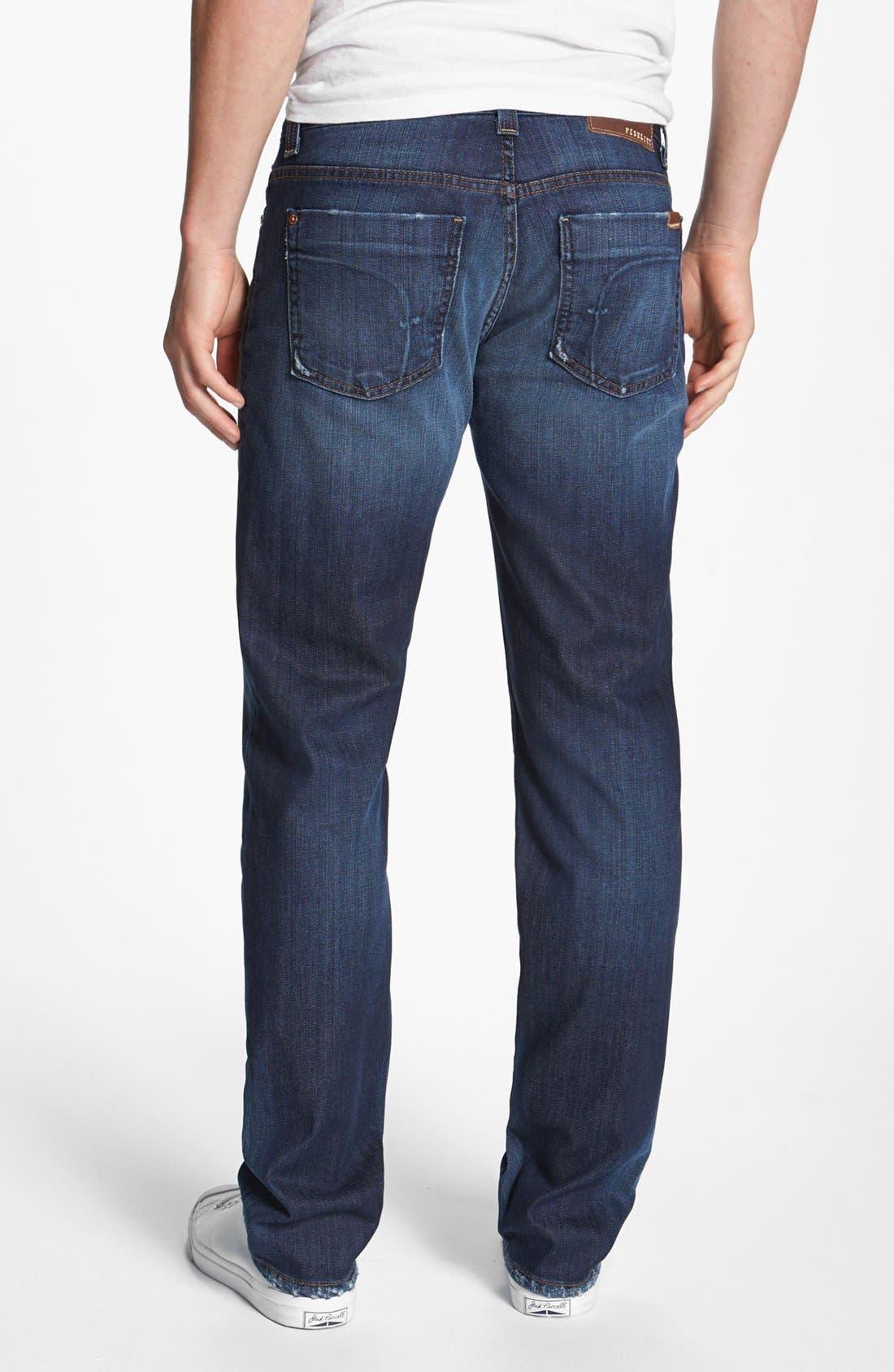 Alternate Image 2  - Fidelity Denim 'Slim Jim' Slim Fit Jeans (Windsor Blue)