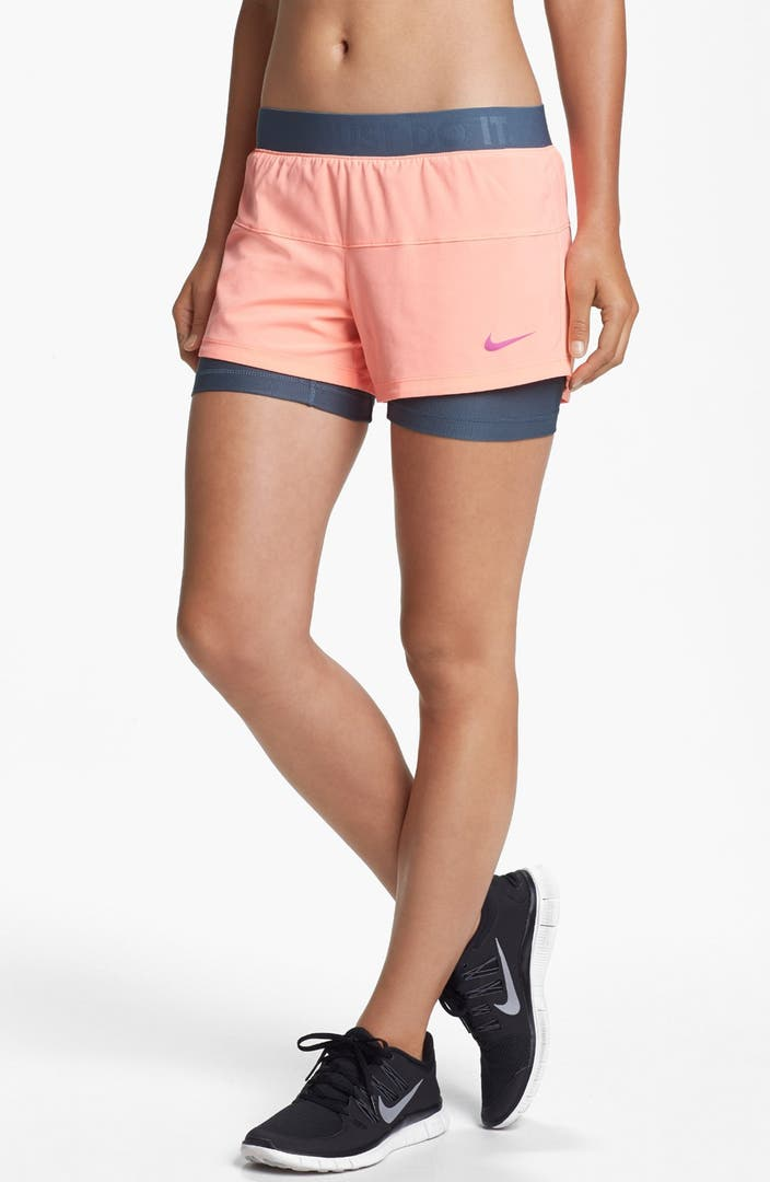 nike 39 icon 39 2 in 1 dri fit shorts nordstrom. Black Bedroom Furniture Sets. Home Design Ideas