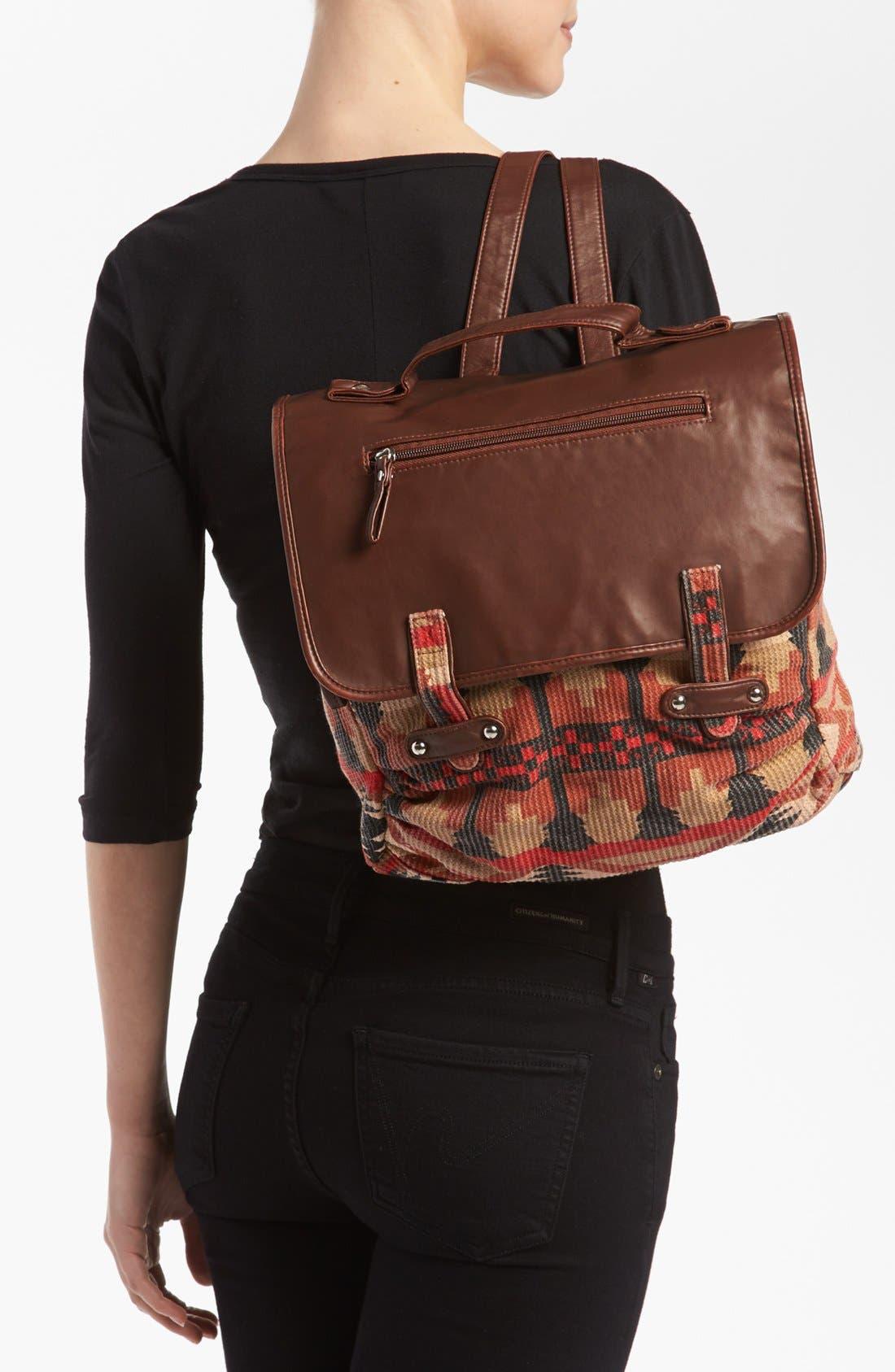 Alternate Image 2  - Lulu Canvas Backpack (Juniors) (Online Only)