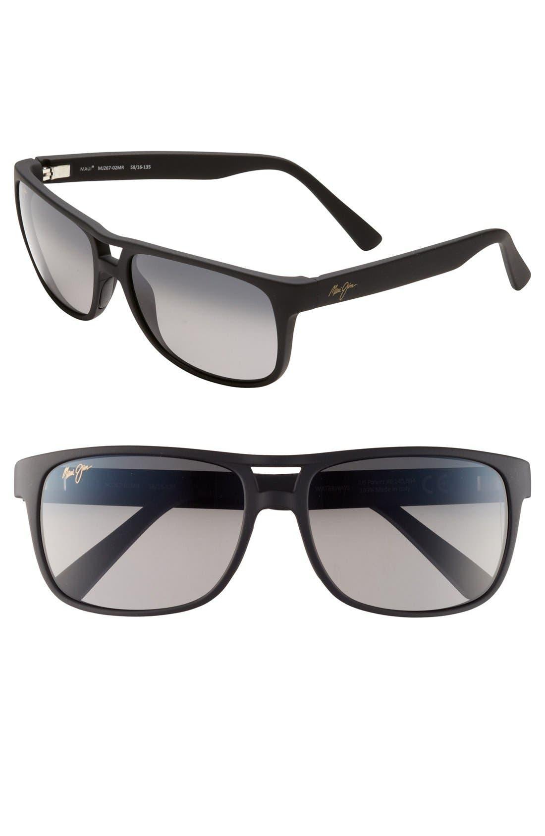 Maui Jim 'Waterways - PolarizedPlus®2' 58mm Sunglasses