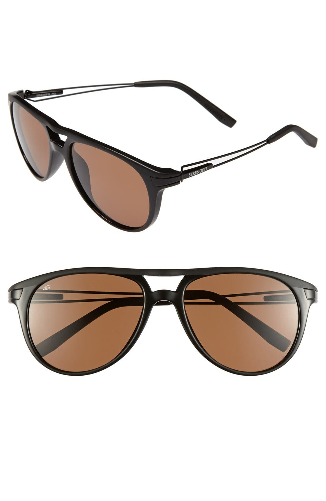 Main Image - Serengeti 'Udine' 62mm Polarized Sunglasses