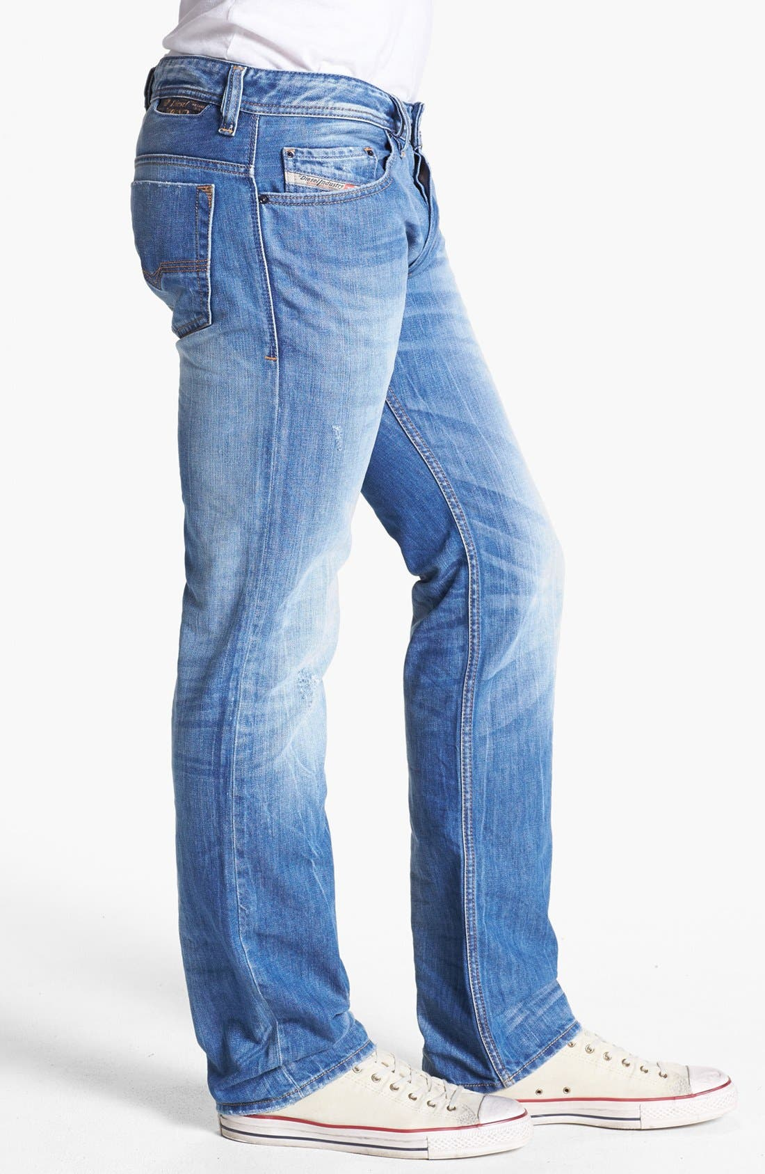 Alternate Image 3  - DIESEL® 'Safado' Slim Fit Jeans (0816P)