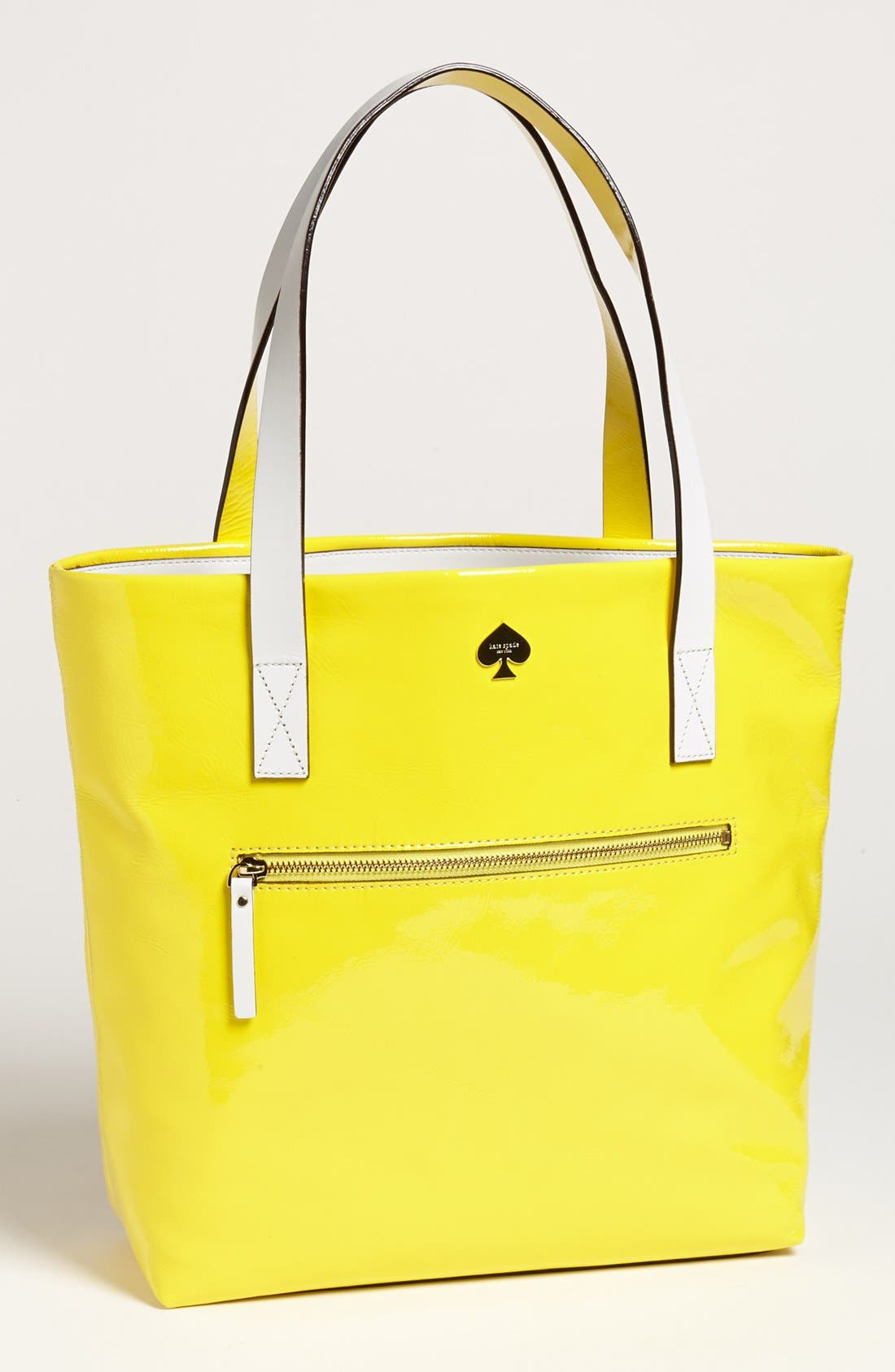 Alternate Image 1 Selected - kate spade new york 'flicker' patent leather bon shopper