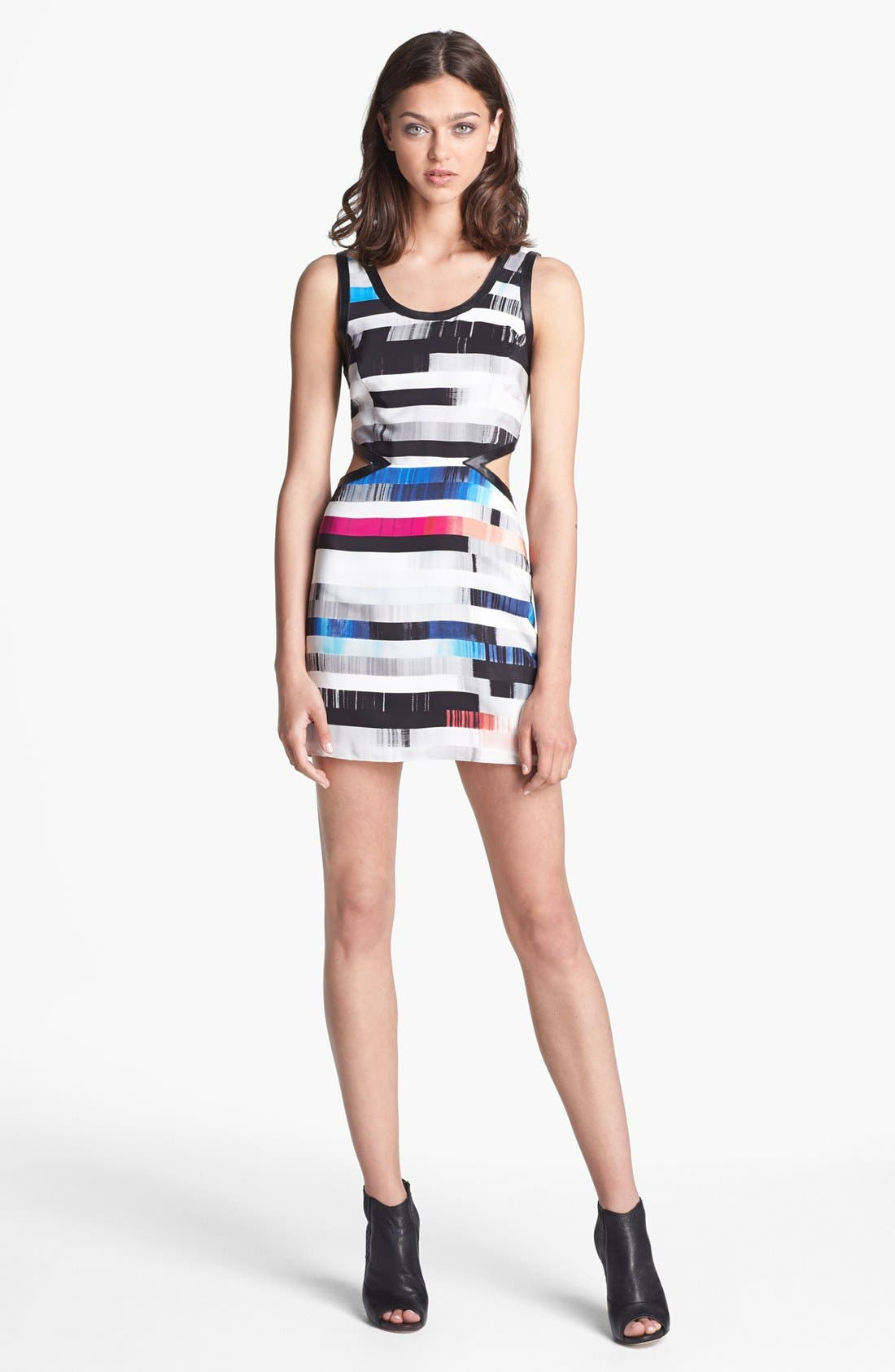 Alternate Image 1 Selected - Parker 'Slash' Silk Tank Dress