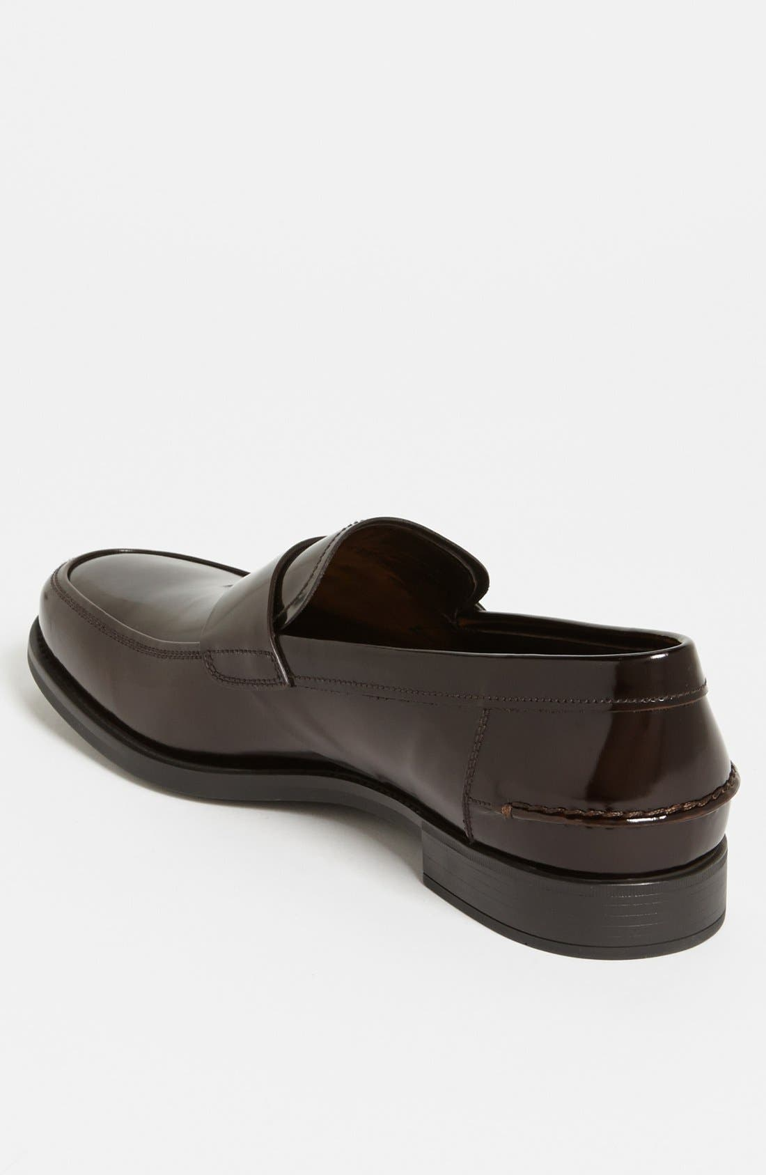 Penny Loafer,                             Alternate thumbnail 2, color,                             Bruciato