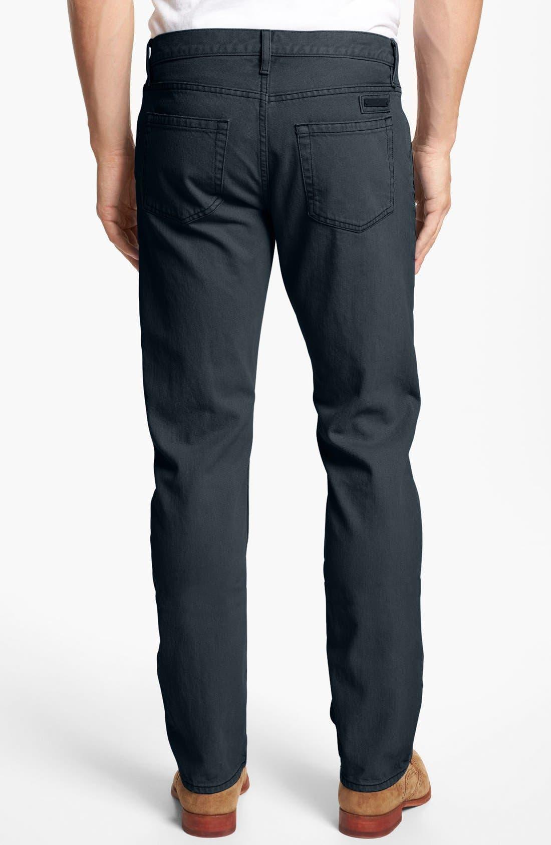 Alternate Image 2  - Burberry Brit 'Steadman' Straight Leg Jeans