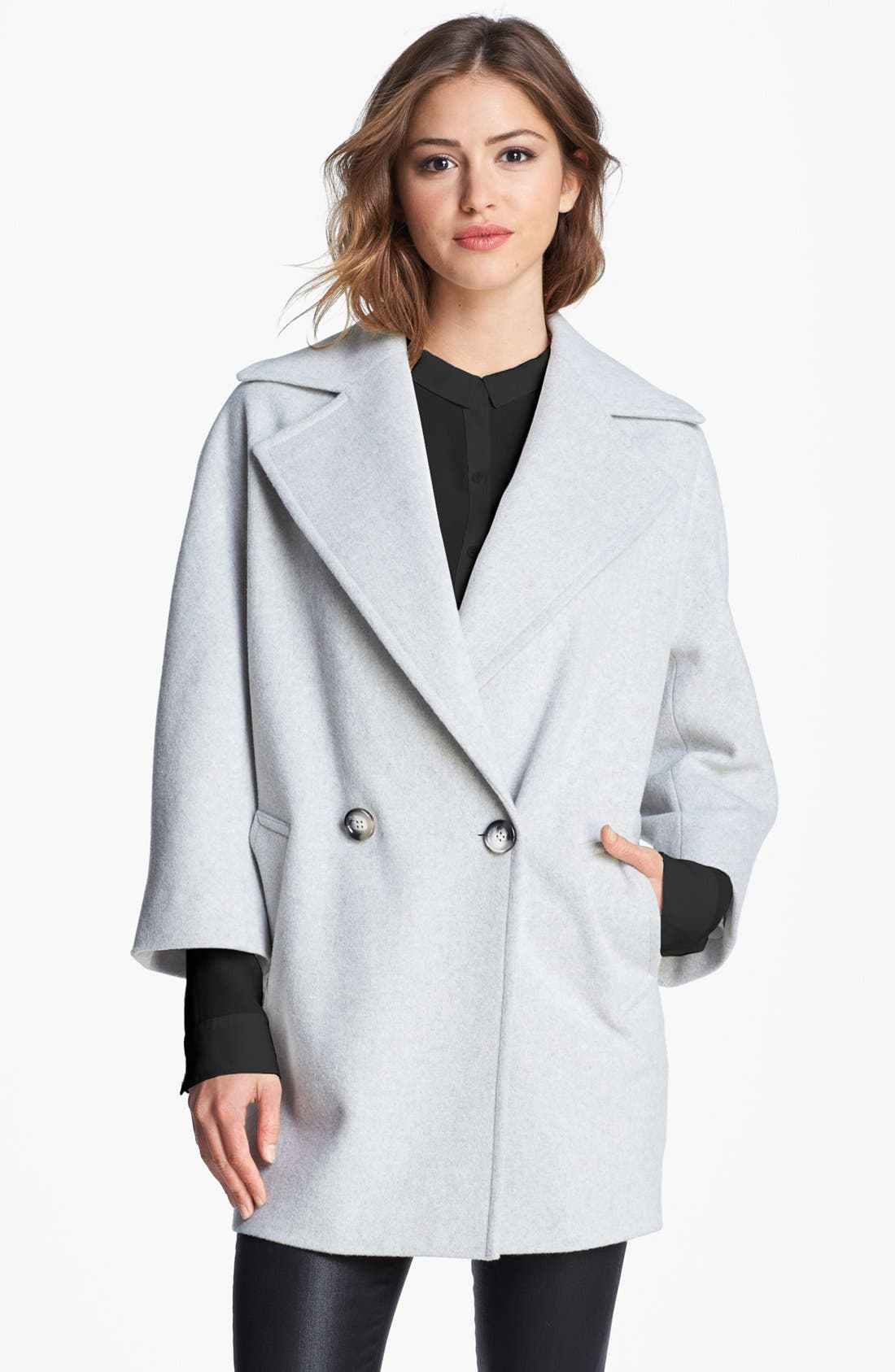 Alternate Image 1 Selected - Helene Berman Oversize Bracelet Sleeve Coat (Online Only)
