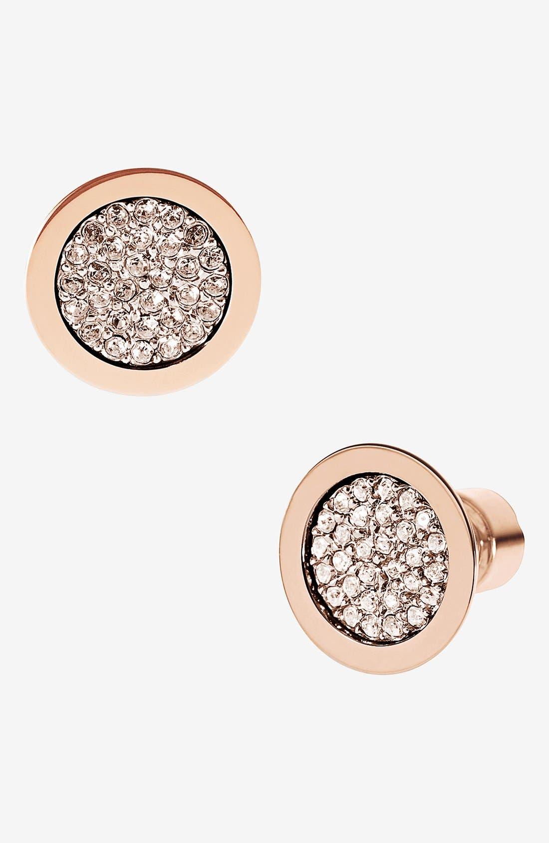 Main Image - Michael Kors 'Brilliance' Stud Earrings