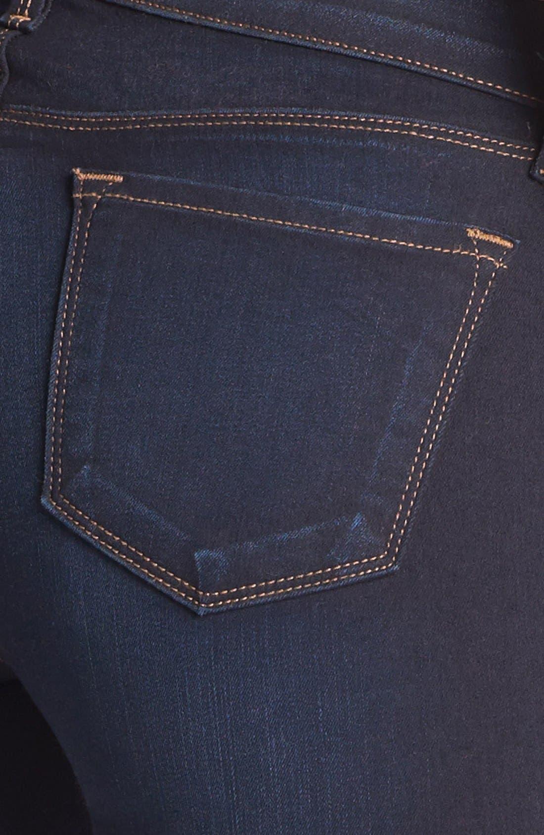 Alternate Image 3  - J Brand '8112 Mid Rise Rail' Skinny Jeans (Atlantis)