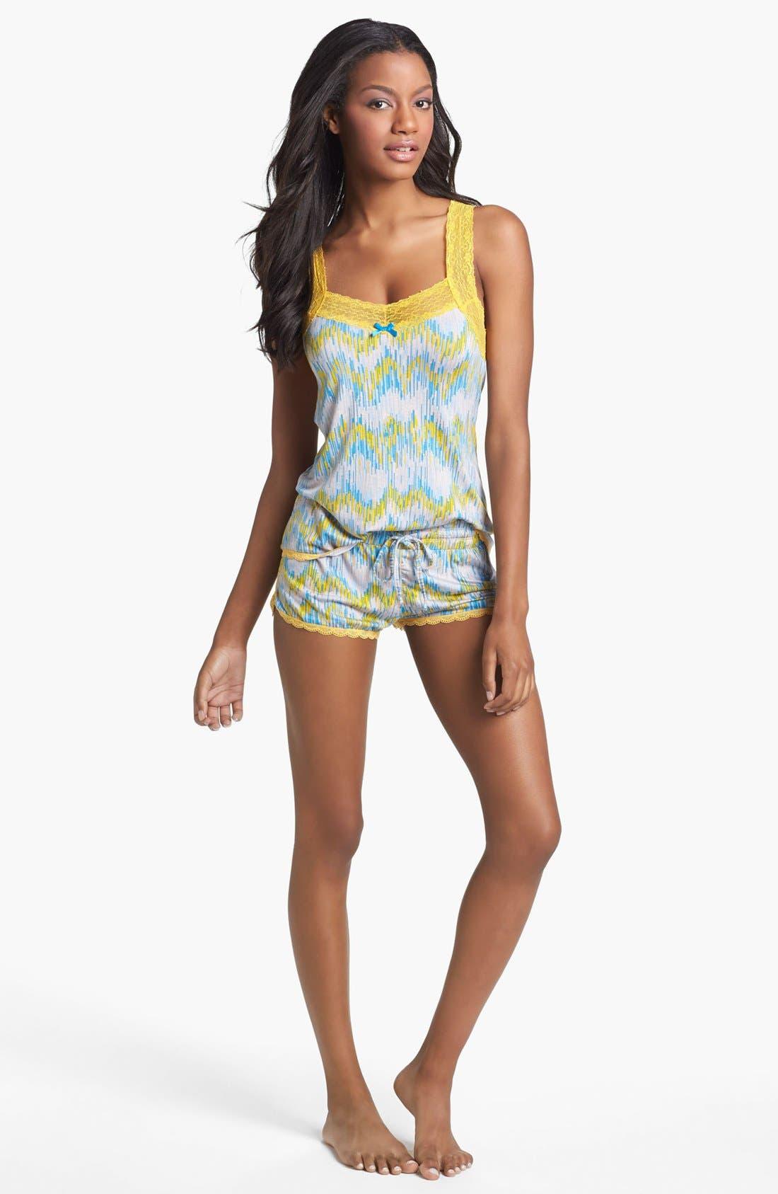 Alternate Image 1 Selected - Honeydew Intimates 'Havasu' Ikat Print Pajamas