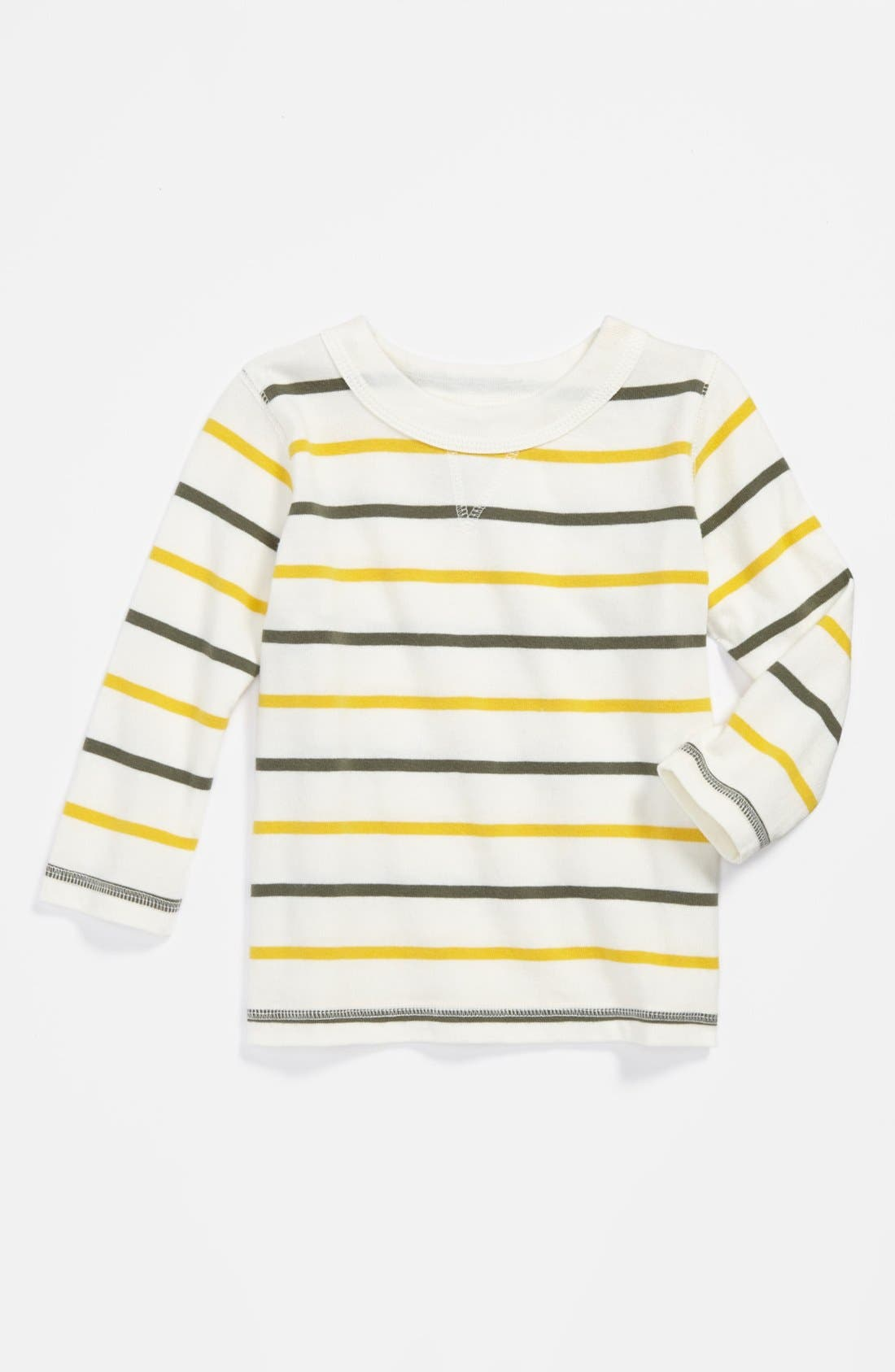 Main Image - Peek Stripe Sweatshirt (Baby Boys)