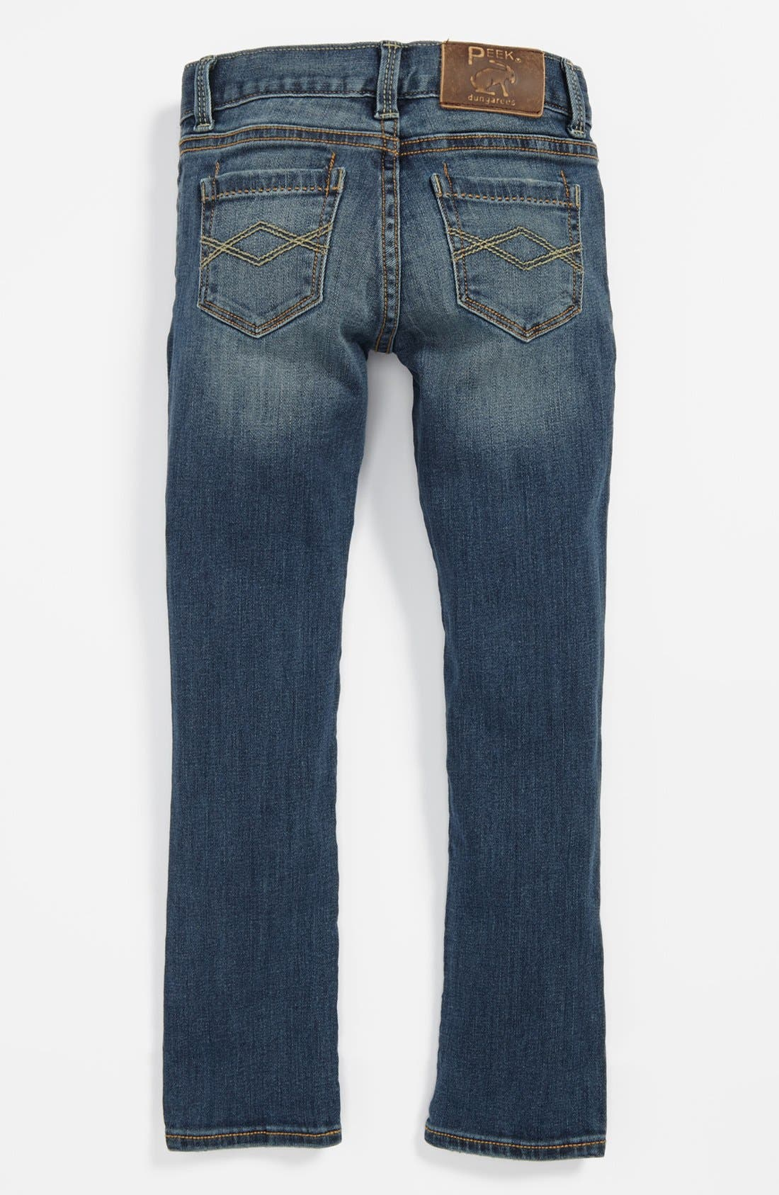 Alternate Image 1 Selected - Peek 'Audrey' Jeans (Toddler Girls, Little Girls & Big Girls)