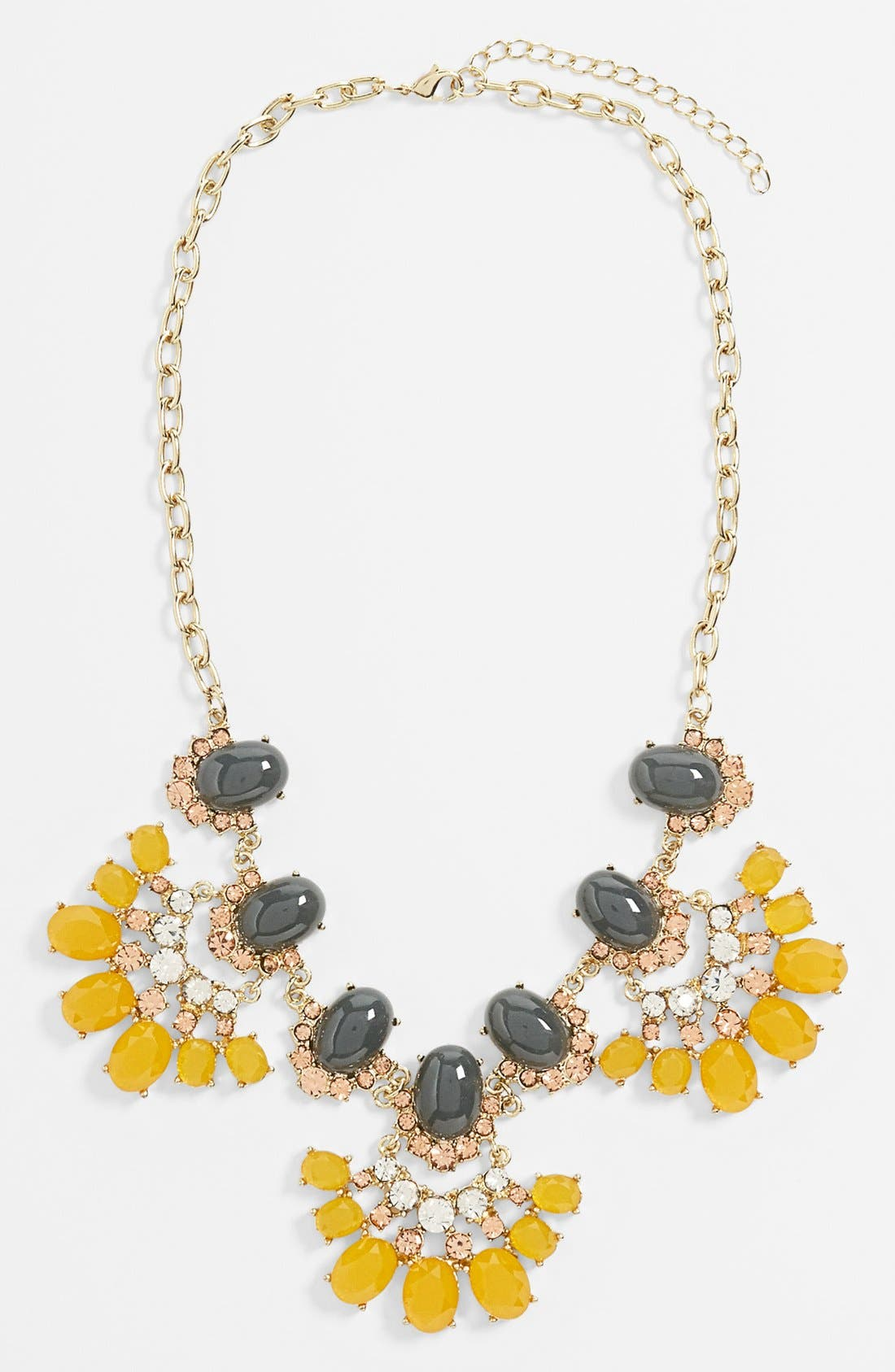 Main Image - Tildon 'Vintage Floral' Statement Necklace