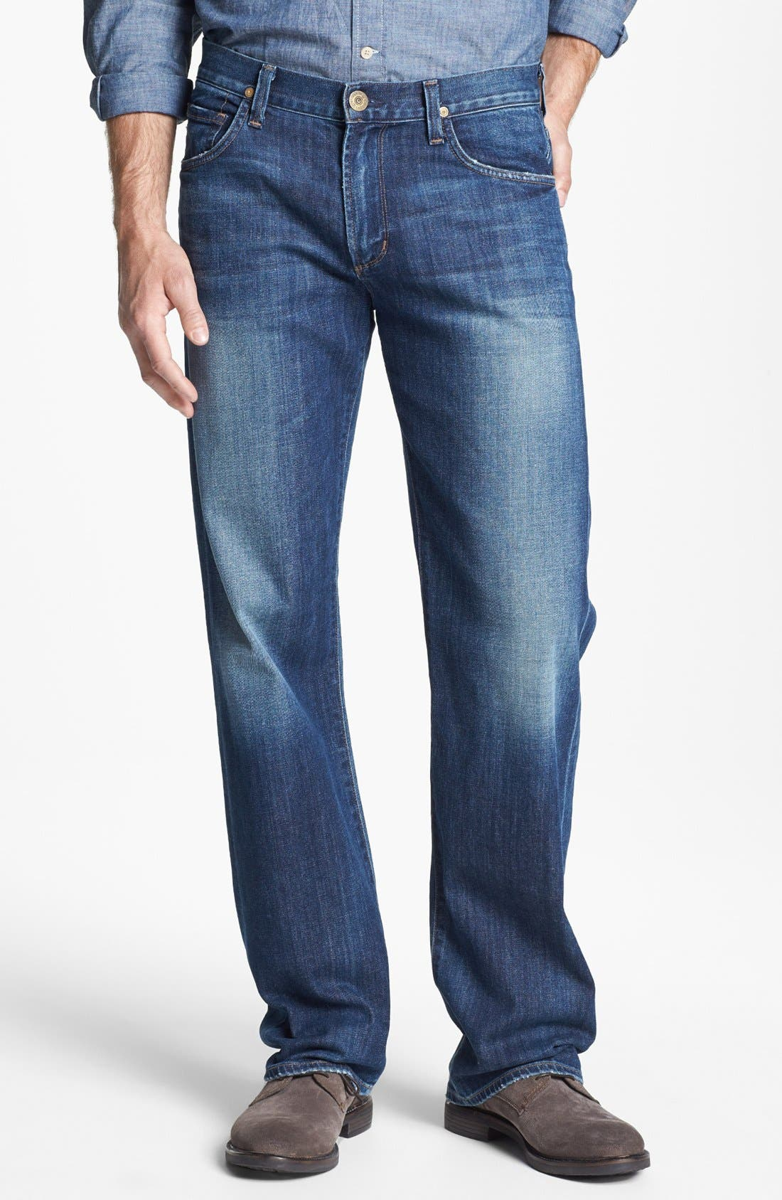 Alternate Image 1 Selected - Citizens of Humanity 'Evans' Relaxed Fit Jeans (Davis)
