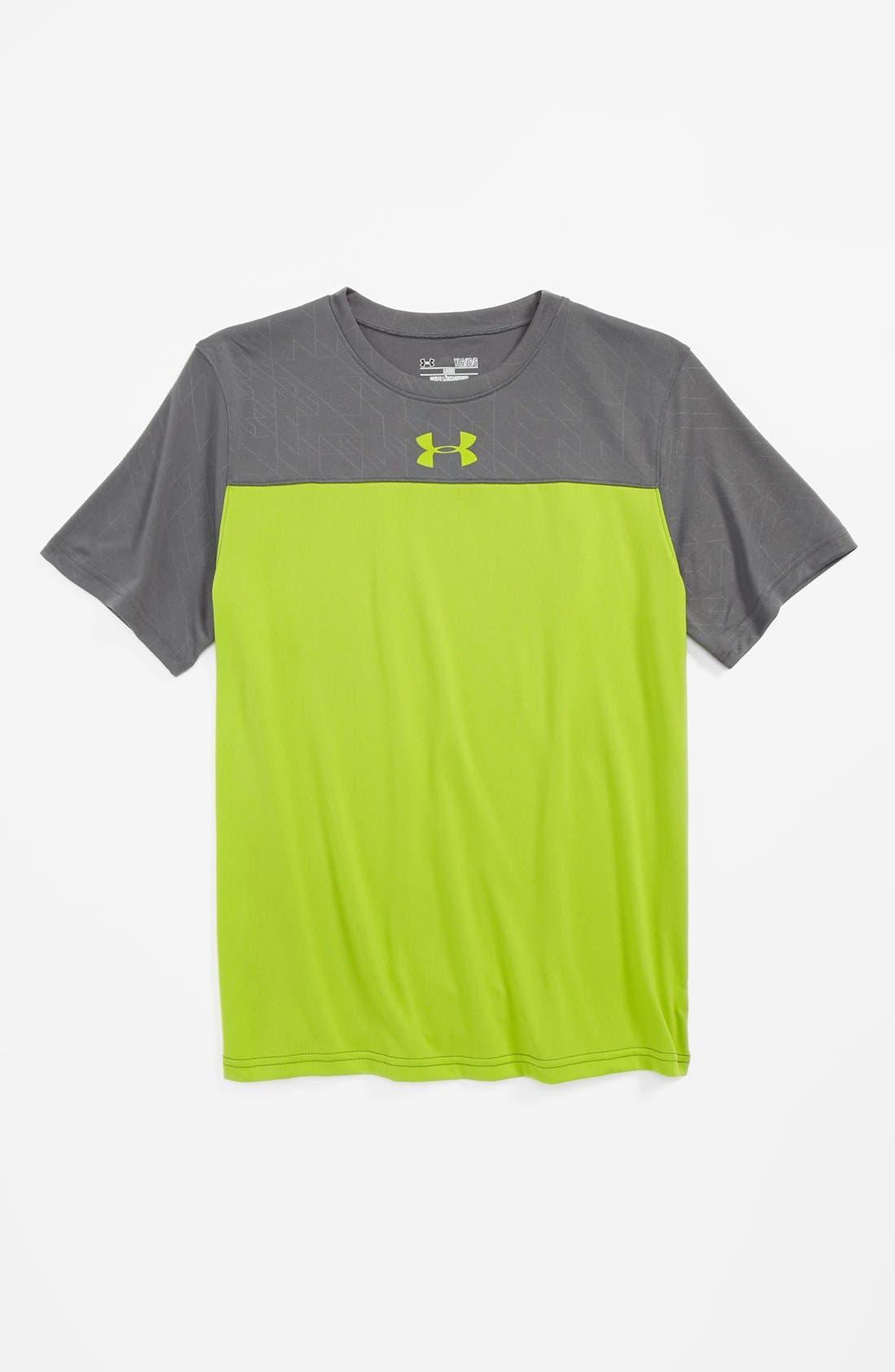Alternate Image 1 Selected - Under Armour 'Brouhaha' HeatGear® T-Shirt (Big Boys)