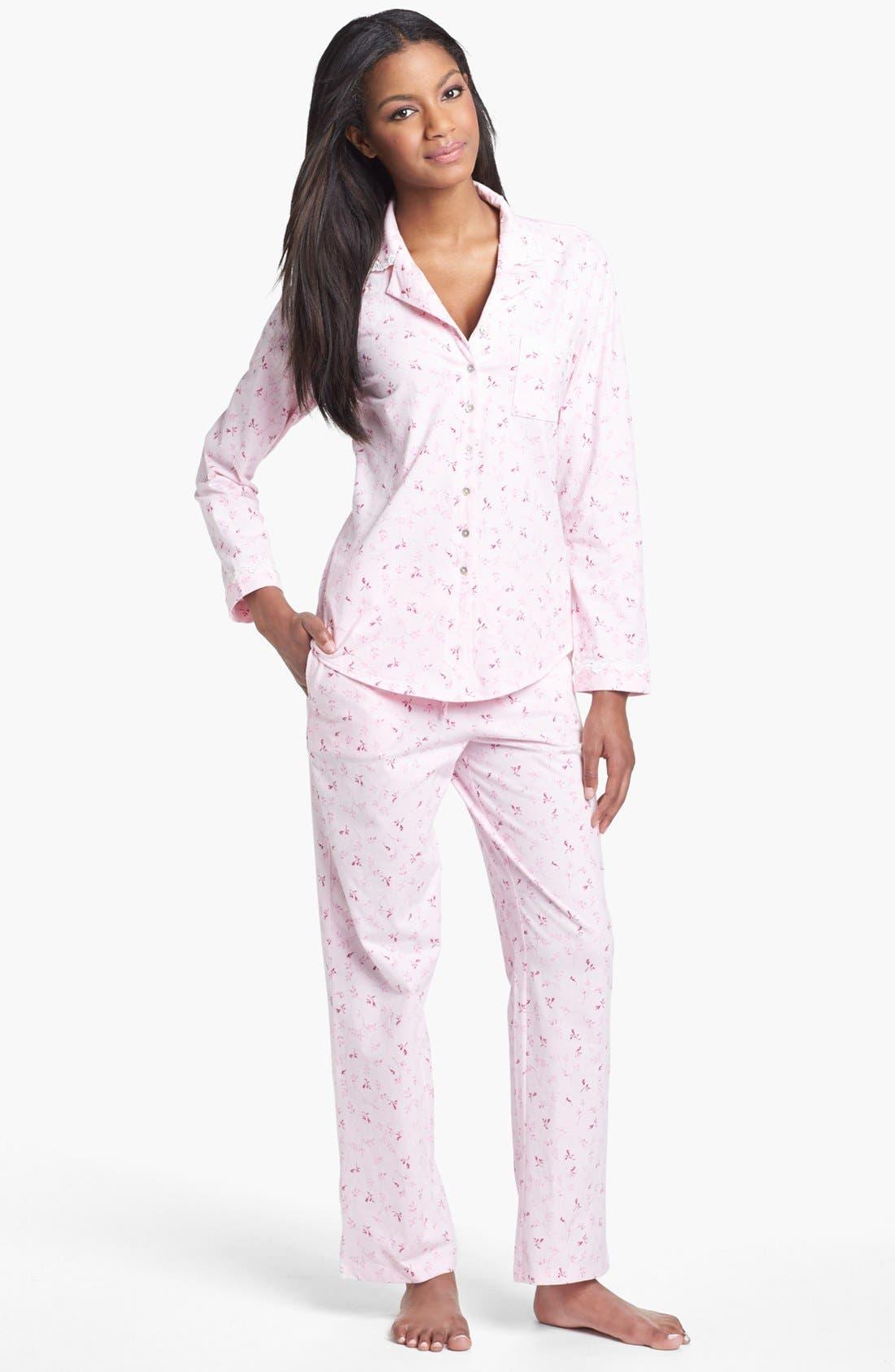 Alternate Image 1 Selected - Eileen West 'Rose Whisper' Pajamas