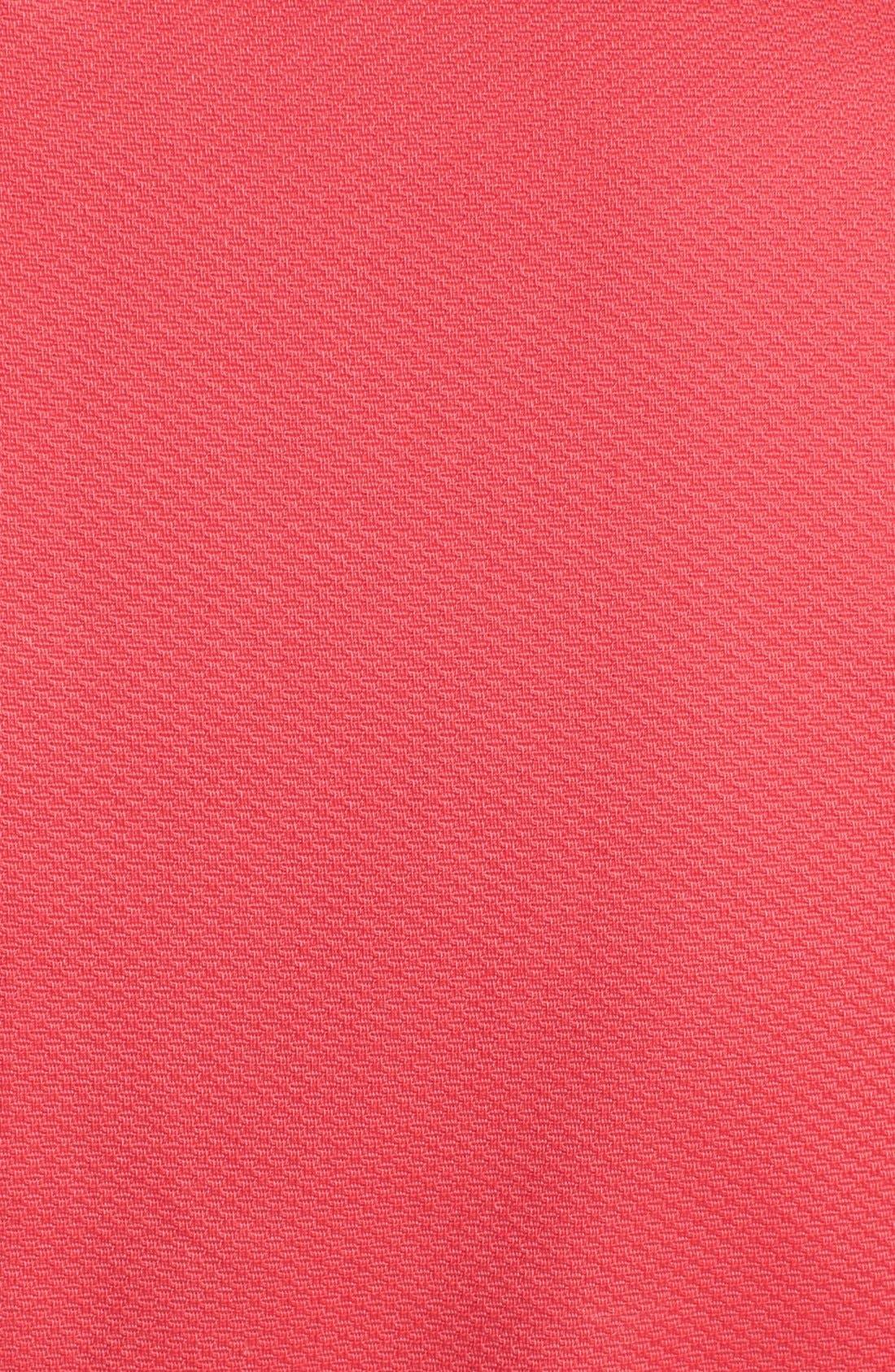 Alternate Image 3  - Jessica Simpson Lace Yoke Sleeveless Peplum Sheath Dress