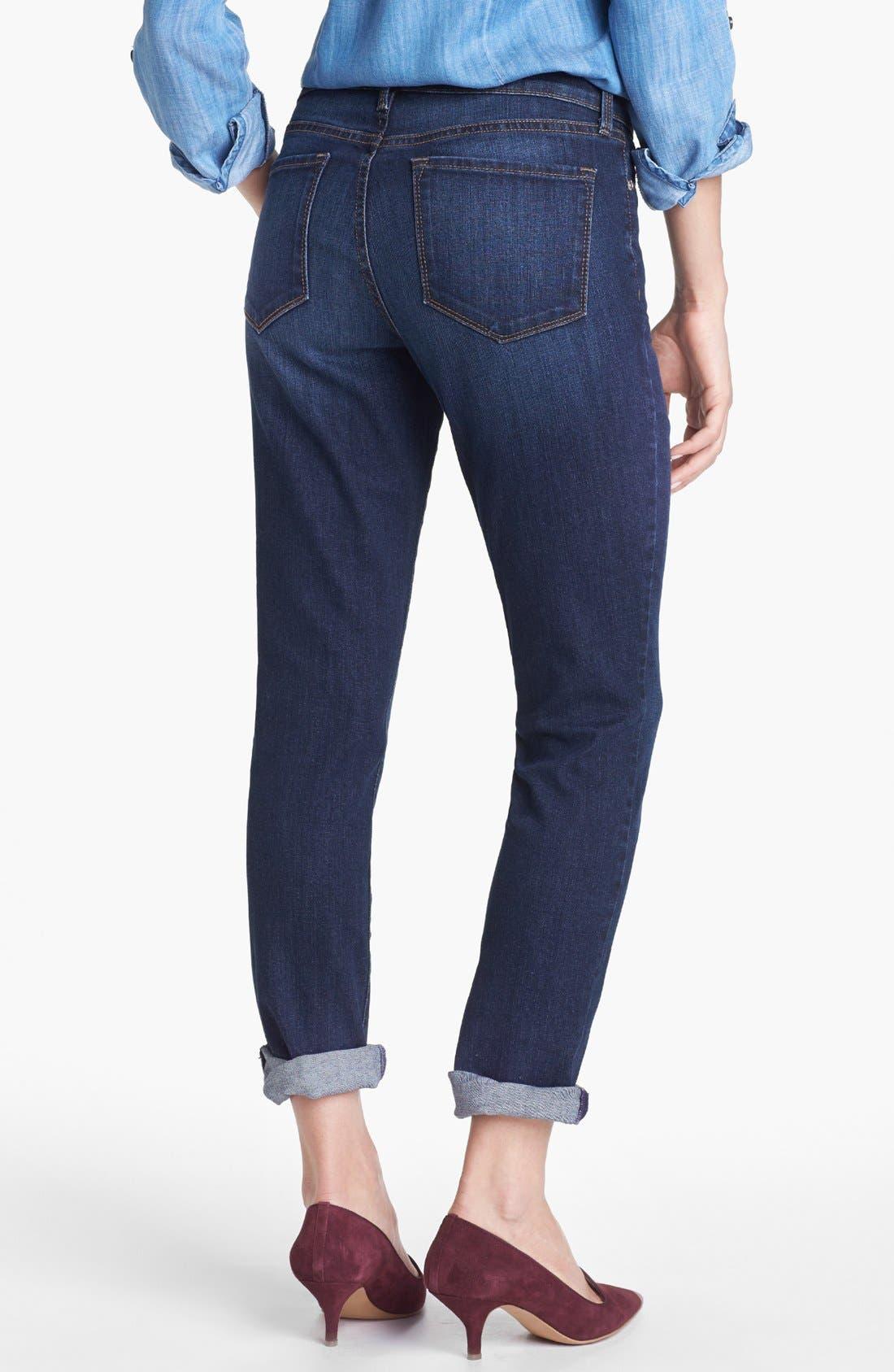 Alternate Image 2  - NYDJ 'Leann' Stretch Skinny Boyfriend Jeans