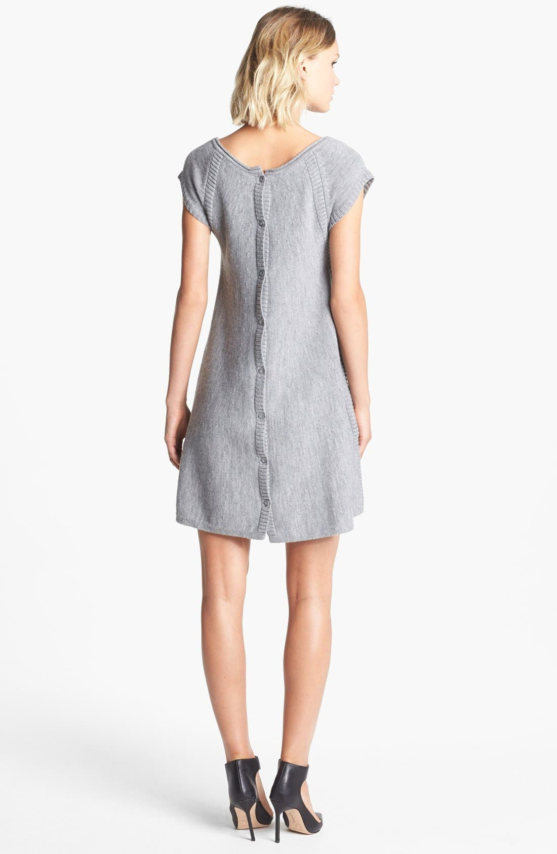 Alternate Image 2  - French Connection Trapeze Wool Sweater Dress